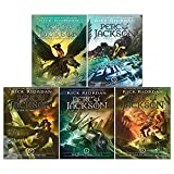 Percy Jackson Rick Riordan 5 Books Collection Pack Set(Percy Jackson and the ...
