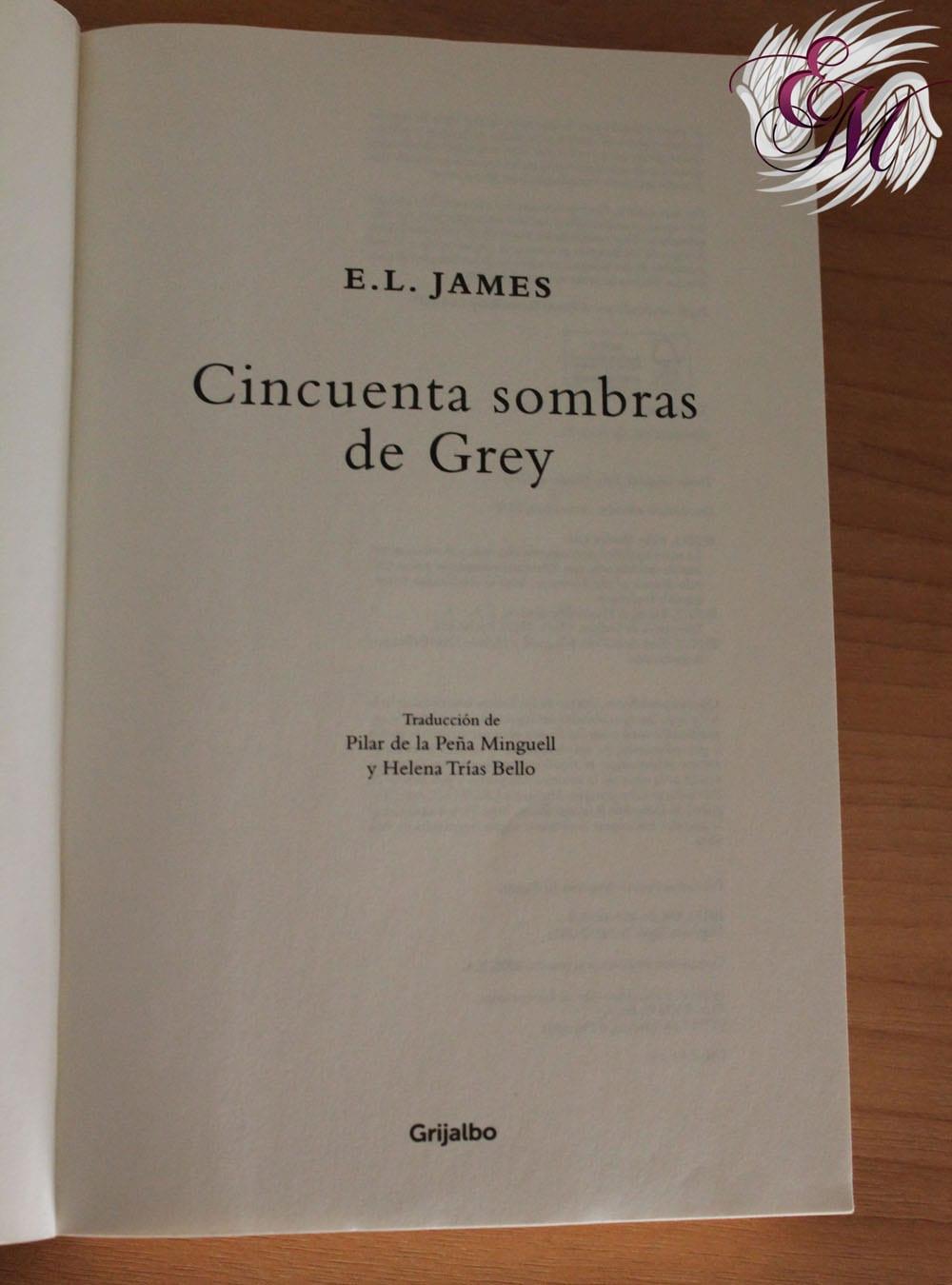 🥇 Cincuenta sombras de Grey (libro), E.L.James - ¡Reseña!