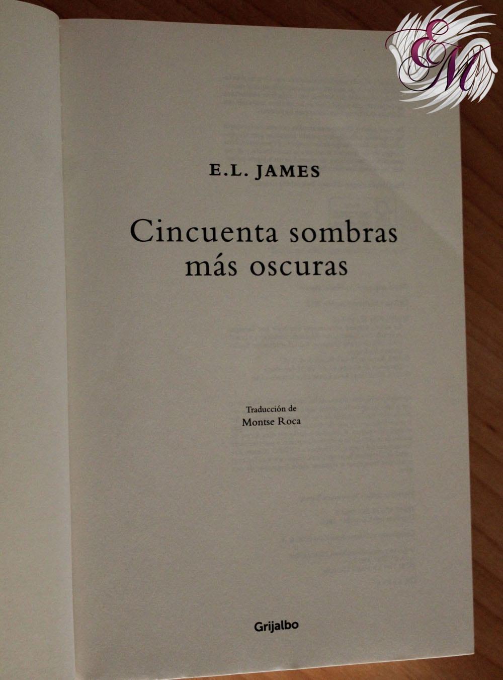 Cincuenta sombras más oscuras, E.L.James - Reseña
