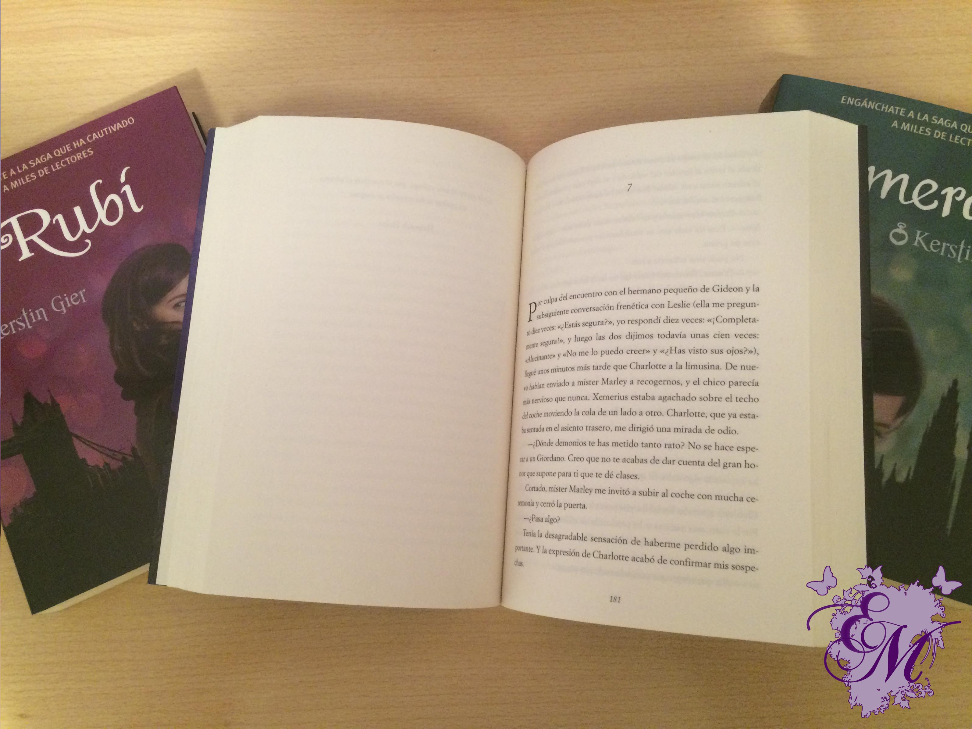 Esmeralda, de Kerstin Gier - Reseña
