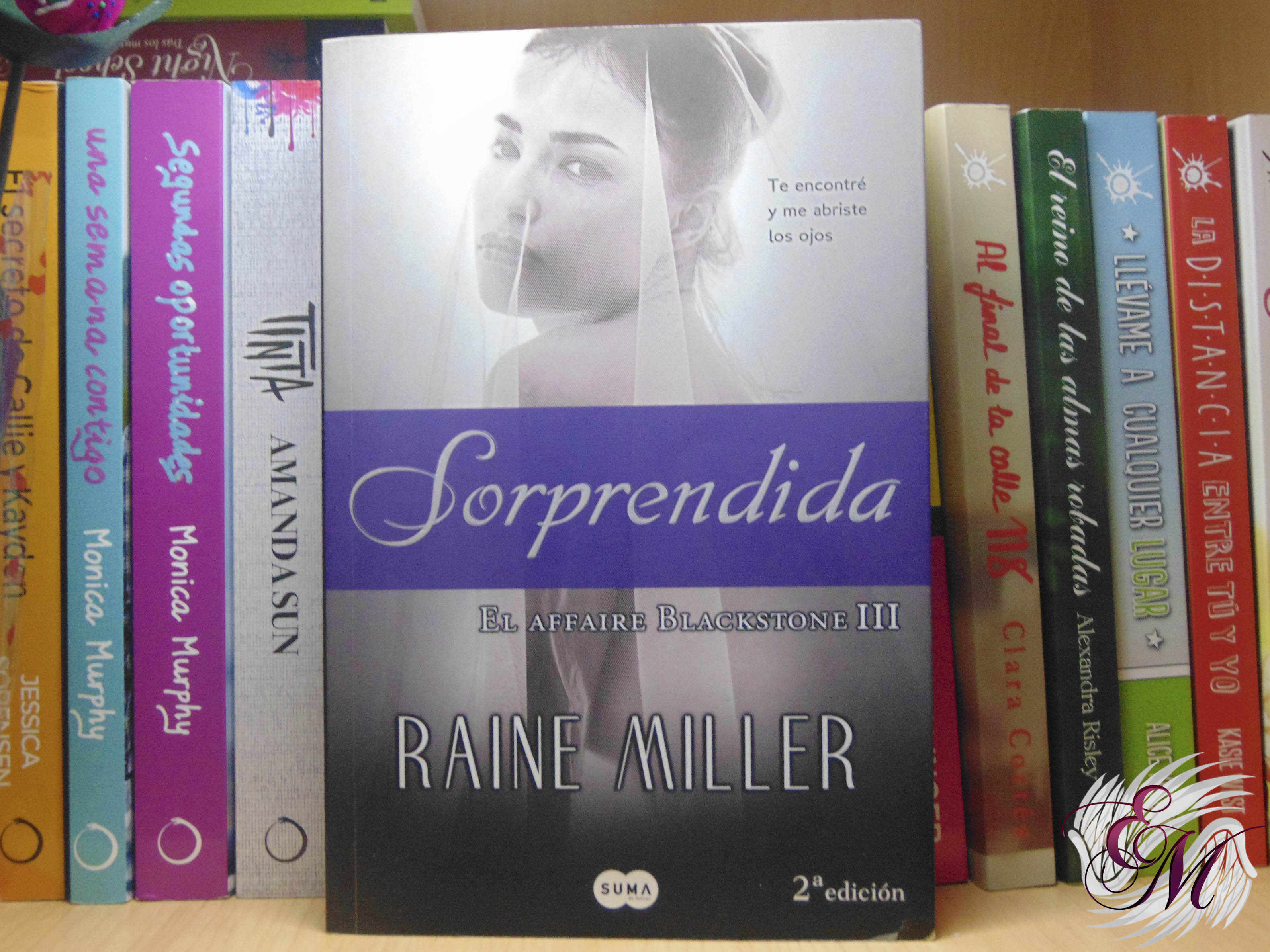 Sorprendida, de Raine Miller - Reseña