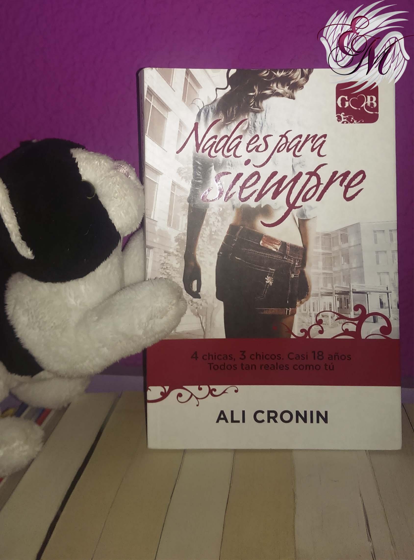 Nada es para siempre, de Ali Cronin - Reseña