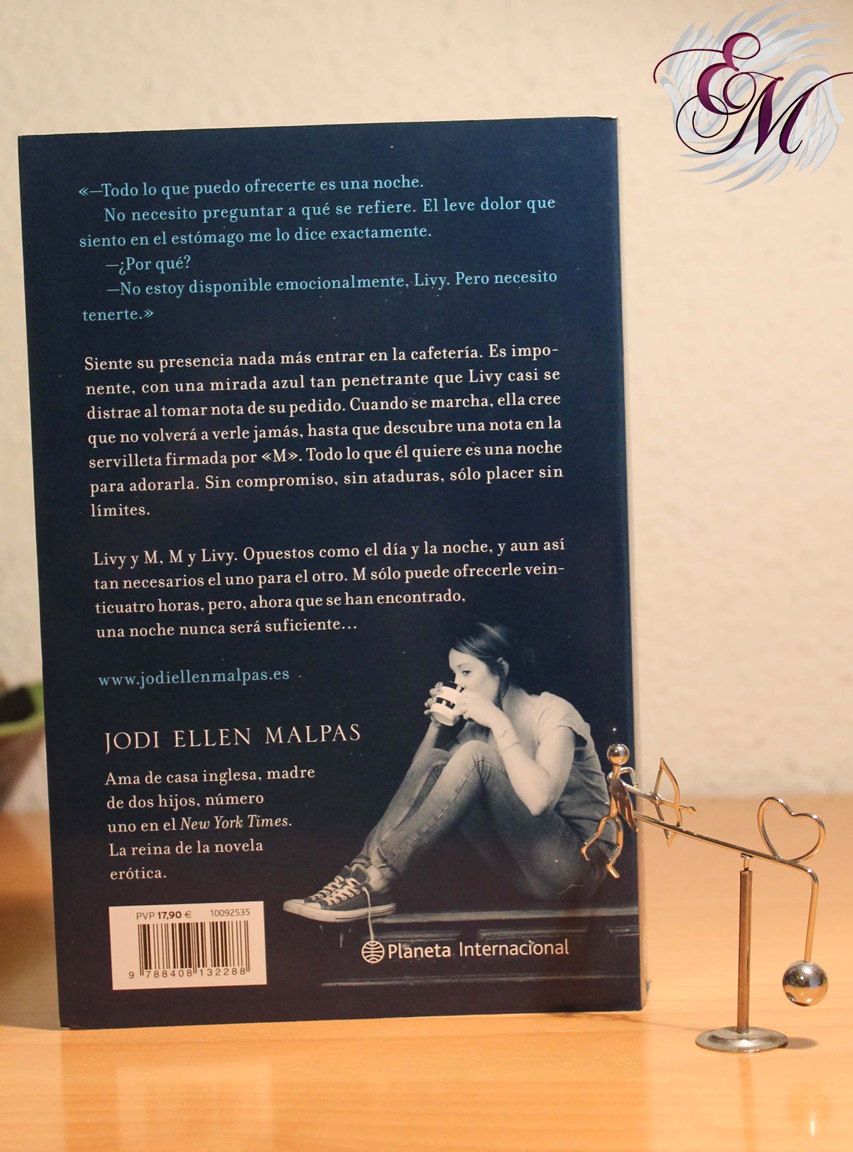 Una noche: Deseada, de Jodi Ellen Malpas – Reseña