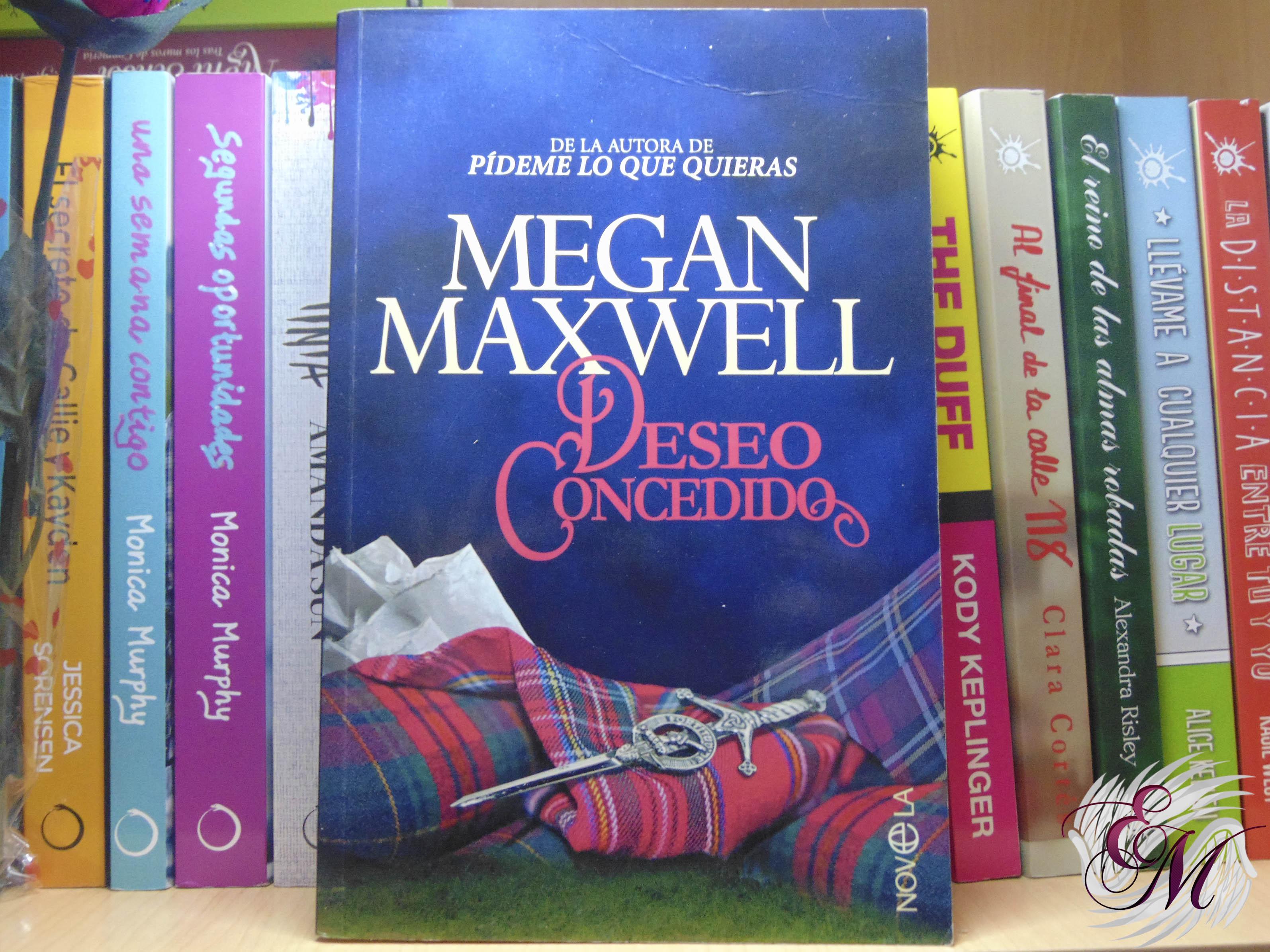 Deseo concedido, de Megan Maxwell - Reseña