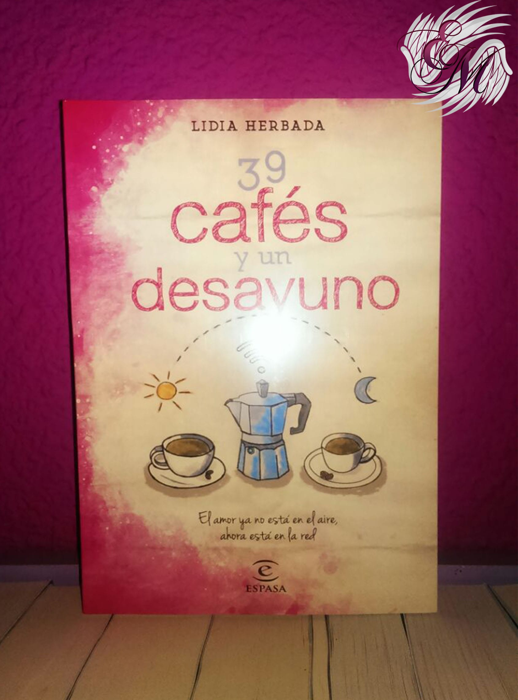 39 cafés y un desayuno, de Lidia Herbada - Reseña