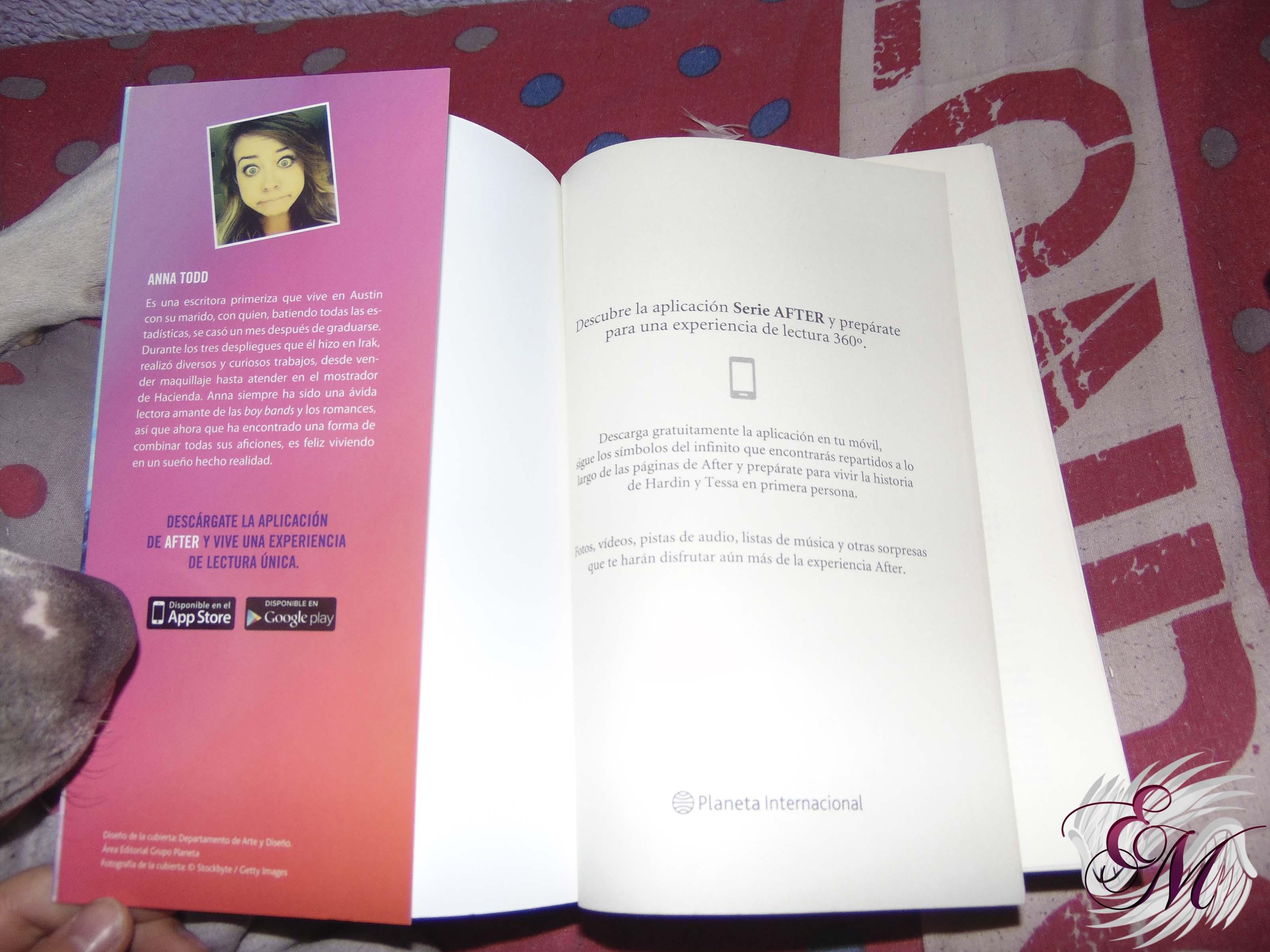Foto de la solapa de la portada