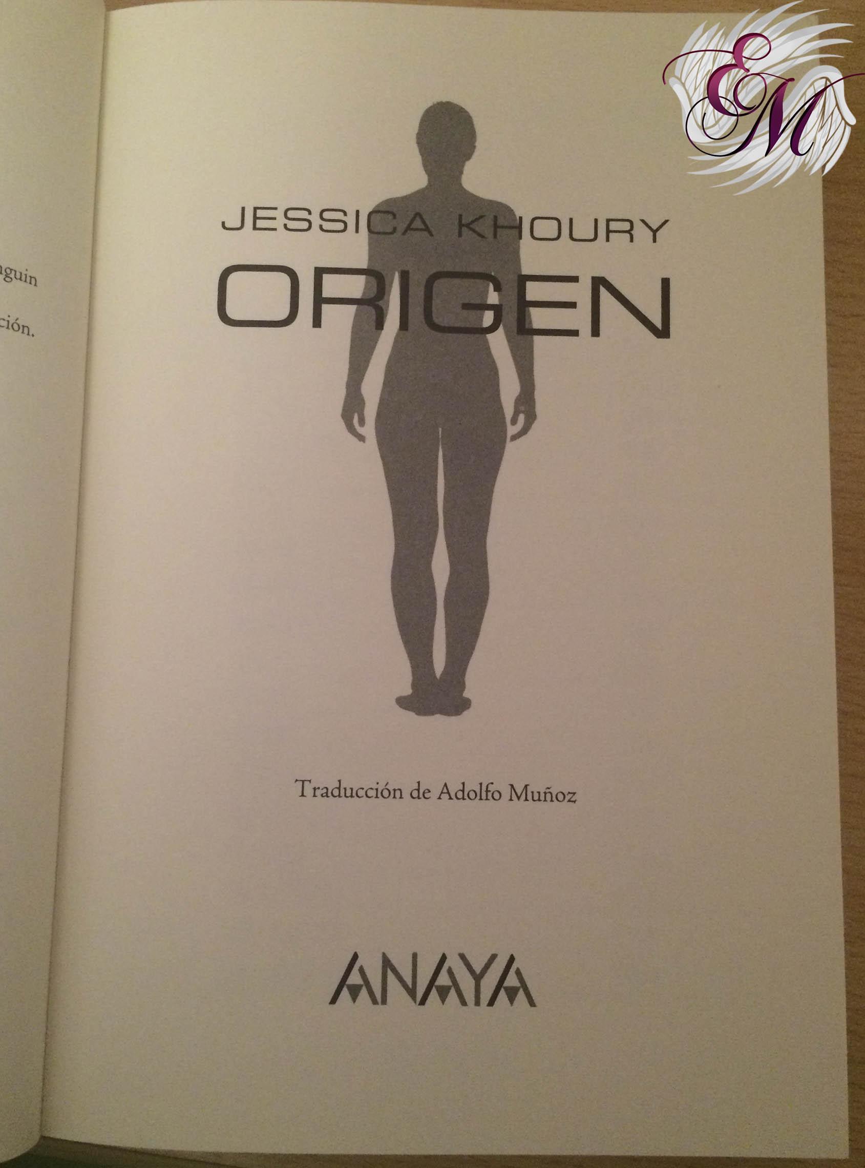 Origen, de Jessica Khoury - Reseña