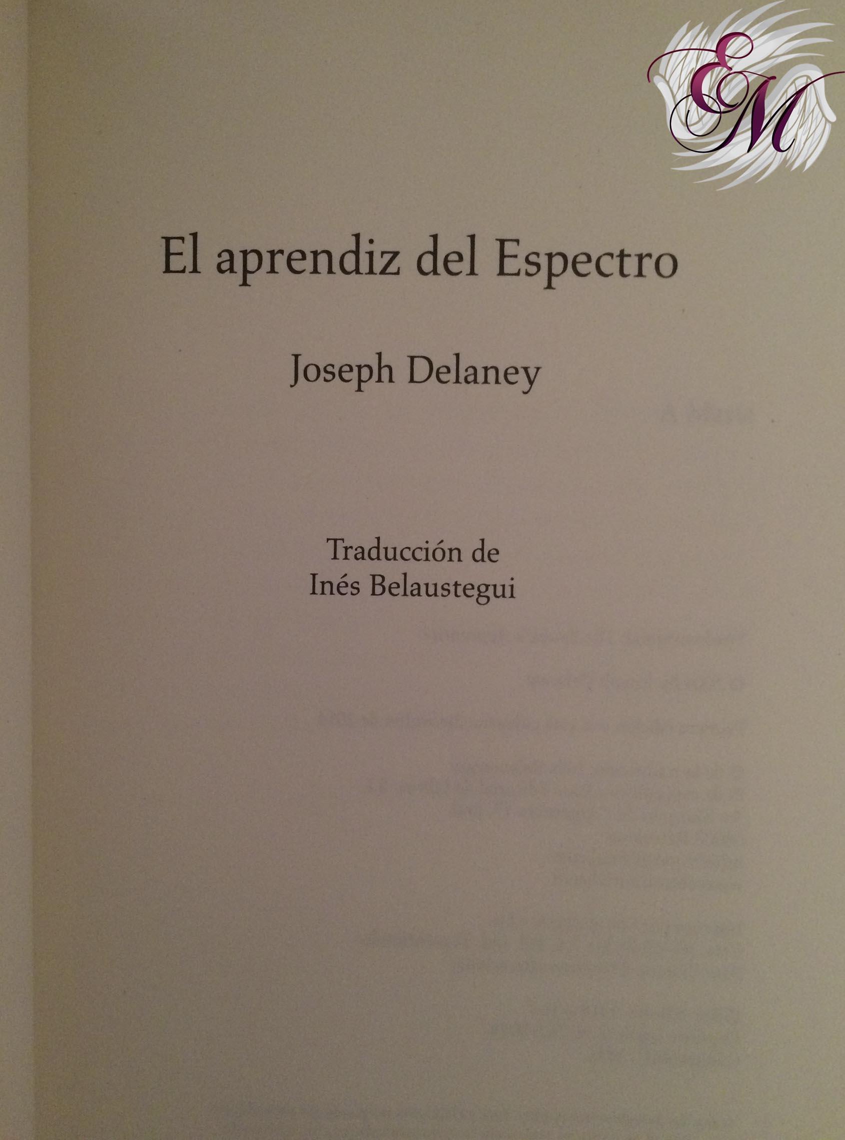 El séptimo hijo: El aprendiz del Espectro, de Joseph Delaney - Reseña