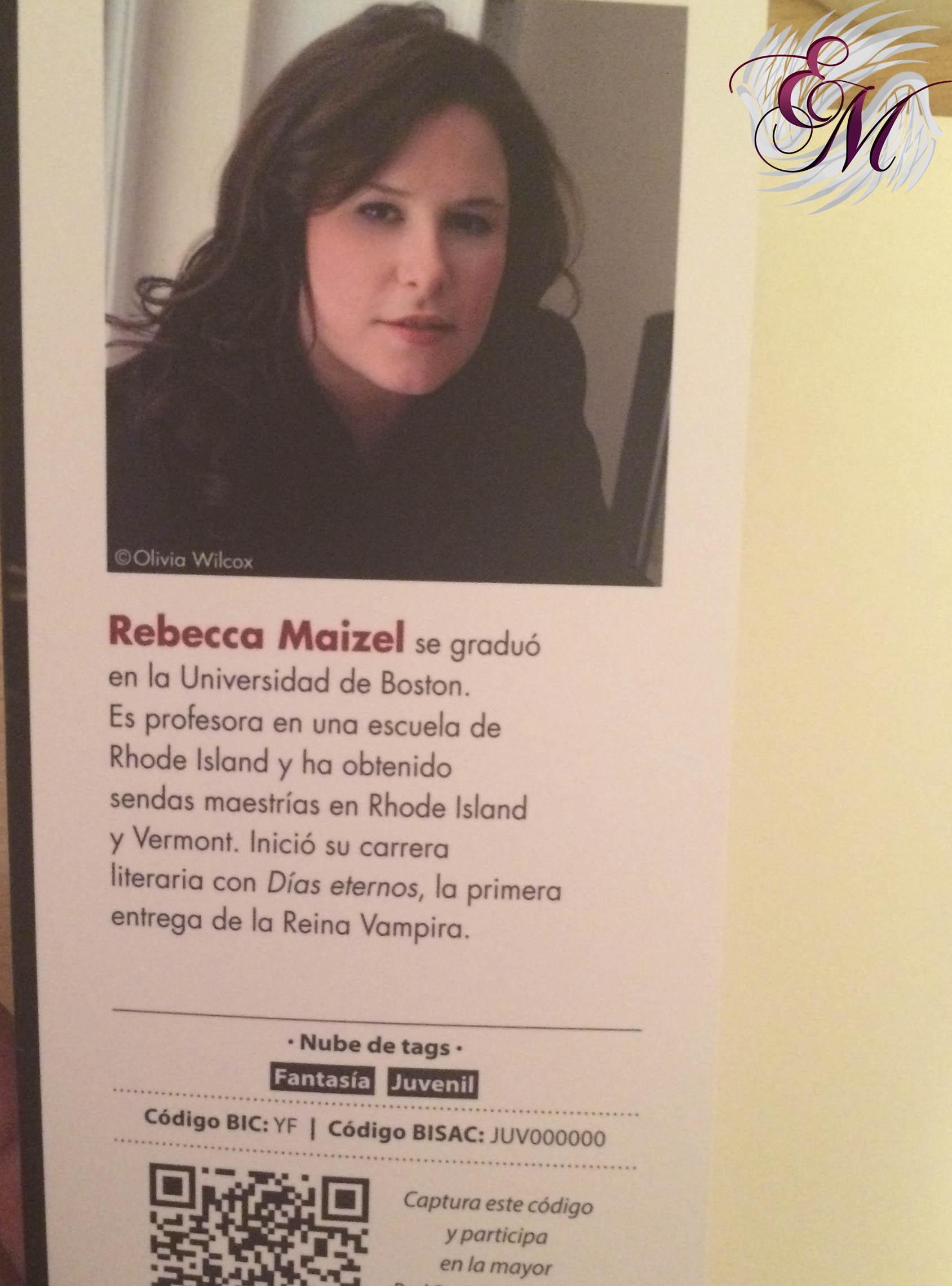 Días eternos, de Rebecca Maizel - Reseña