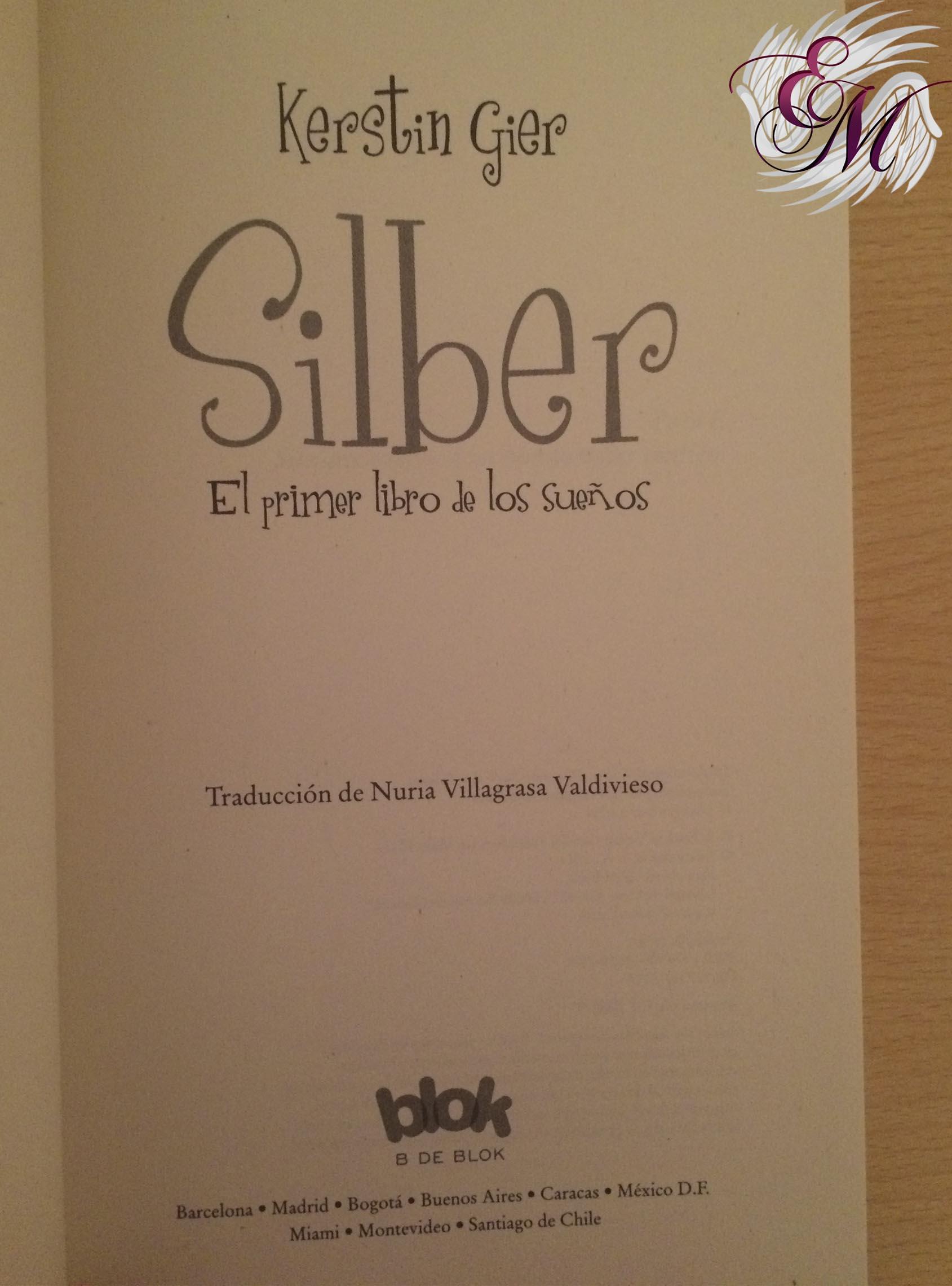 Silber, de Kerstin Gier - Reseña