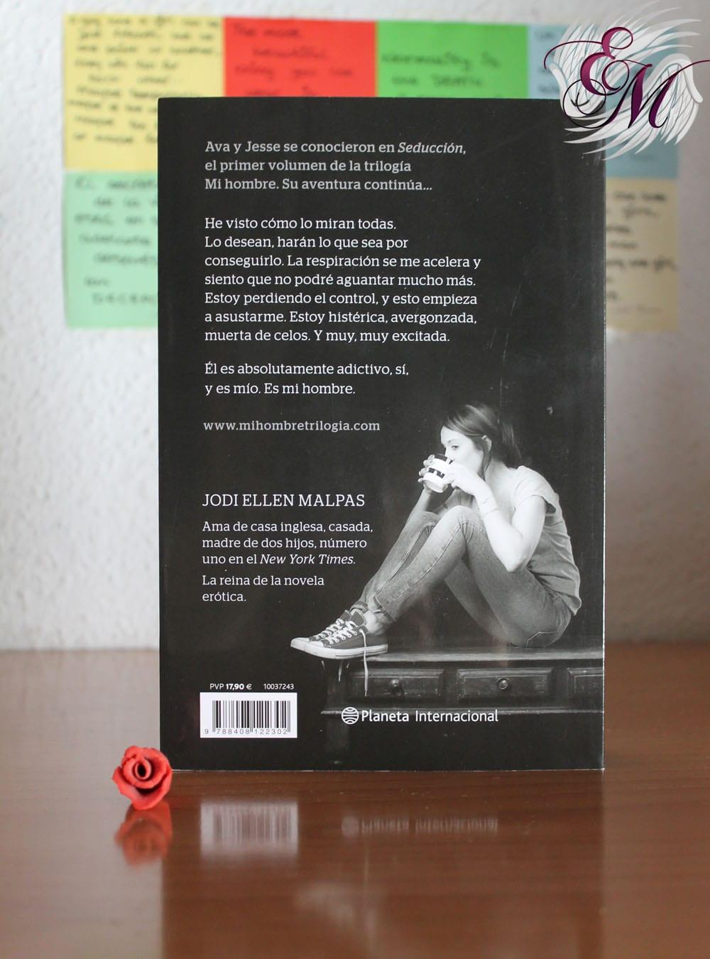 Mi hombre #2: Obsesión, de Jodi Ellen Malpas – Reseña