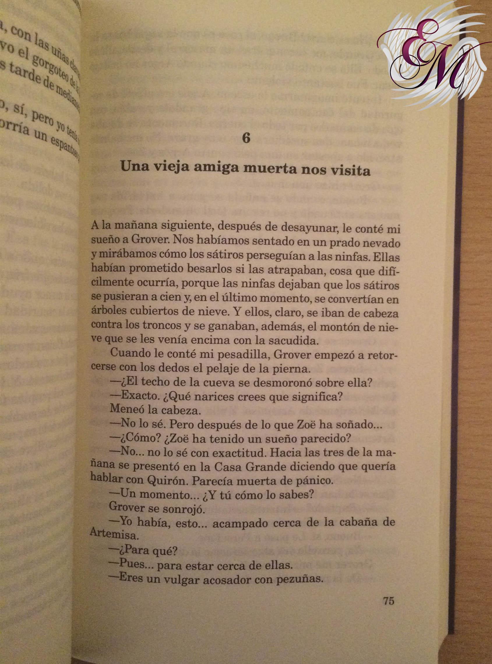 Percy Jackson y la maldición del Titán, de Rick Riordan - Reseña