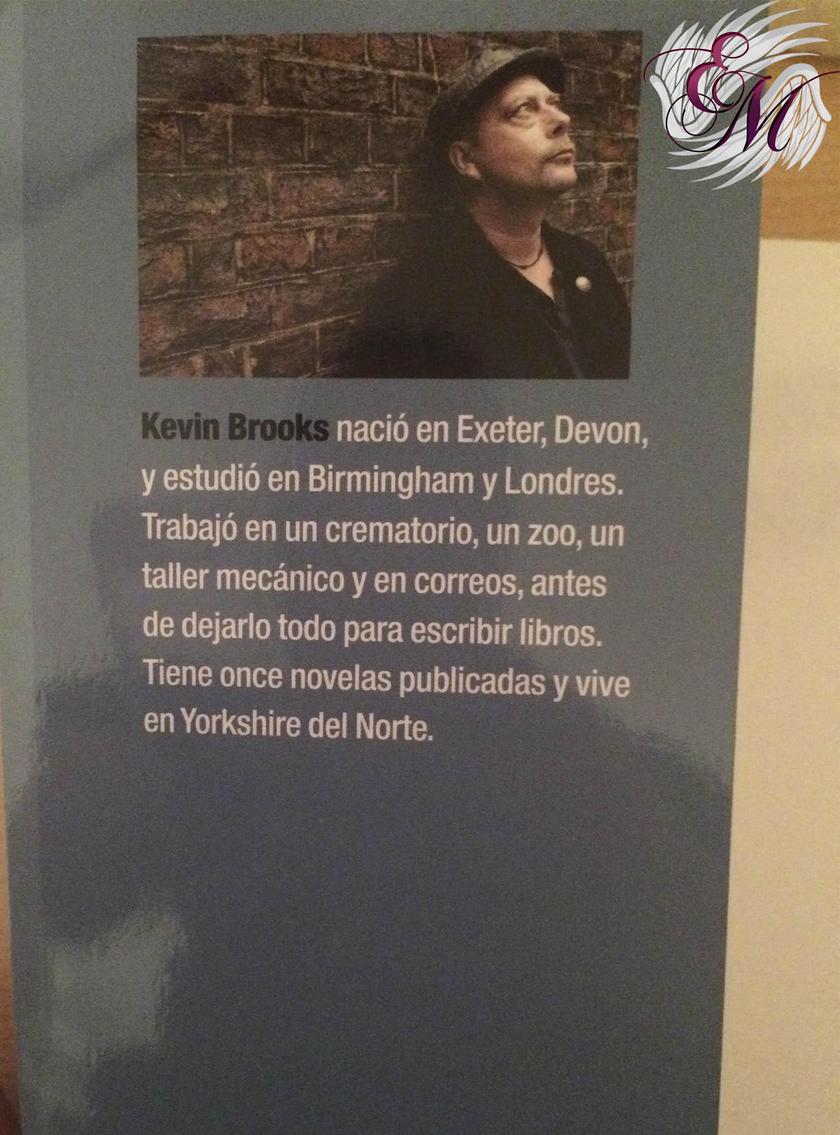 Diario del búnker, de Kevin Brooks - Reseña