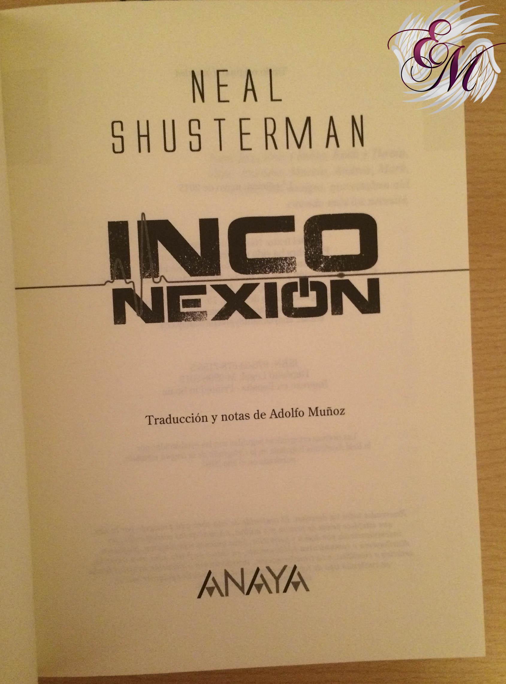 Inconexión, de Neal Shusterman - Reseña