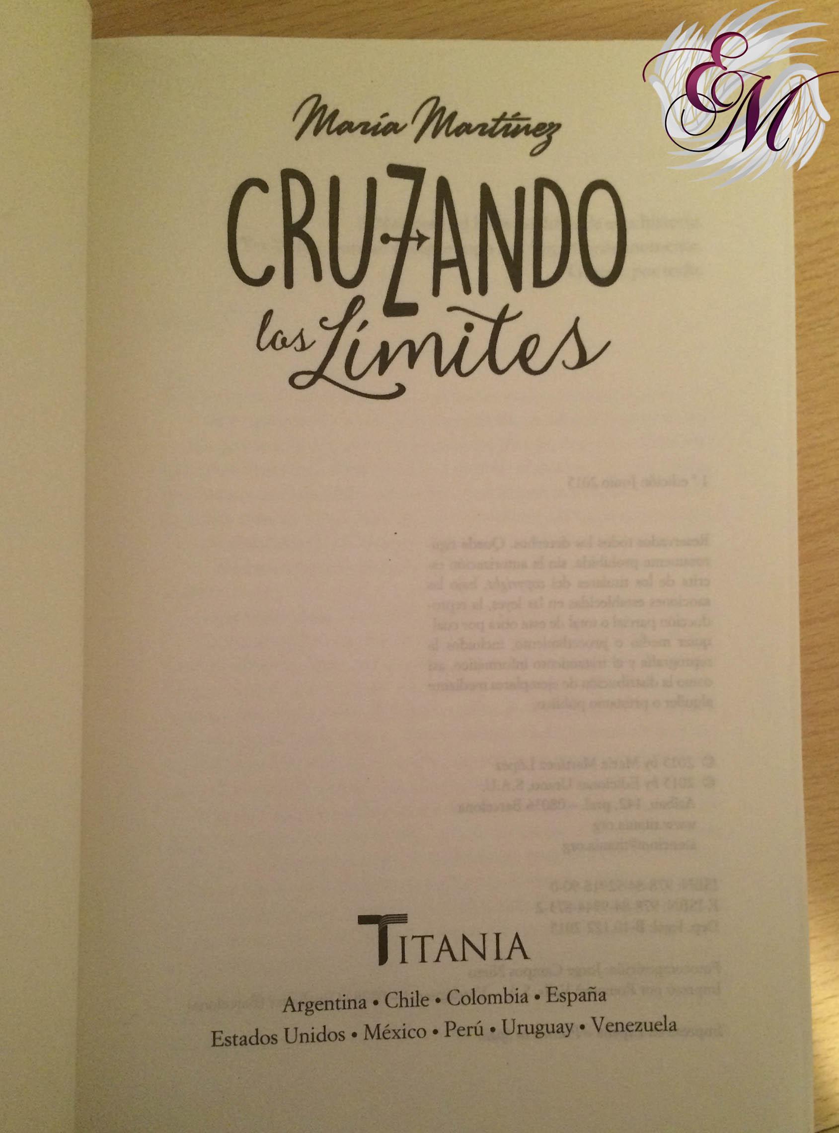 Cruzando los límites, de María Martínez - Reseña