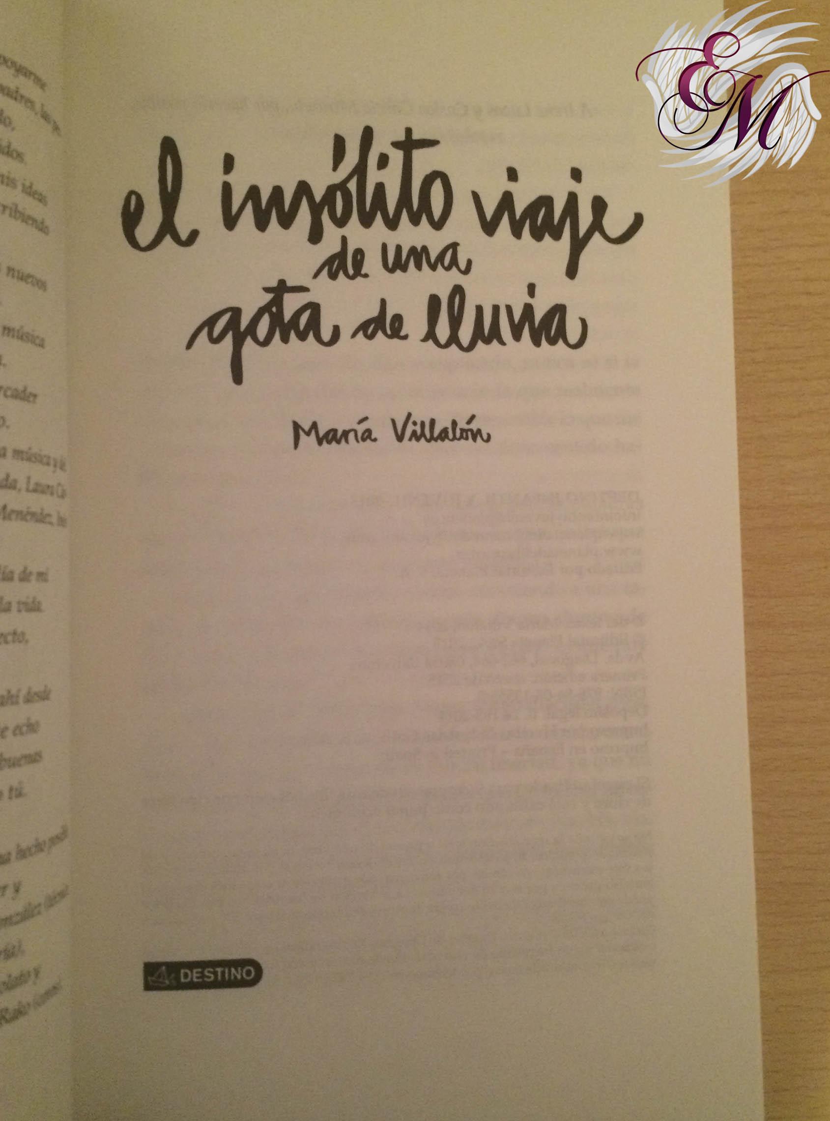 Página de la editorial y el logo del libro.