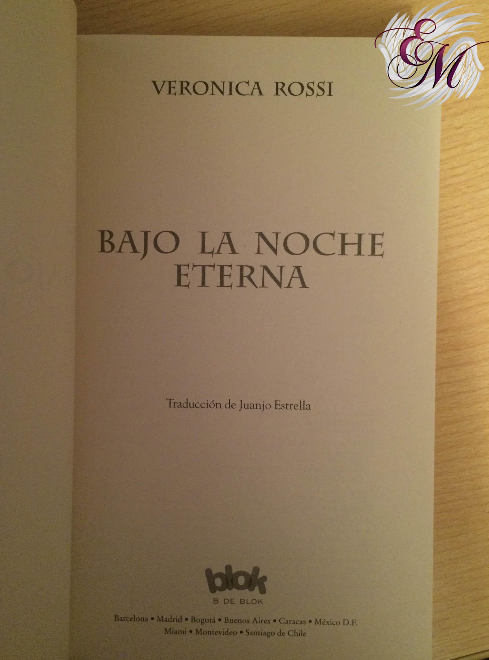 Hacia el azul perpetuo, Veronica Rossi - Reseña