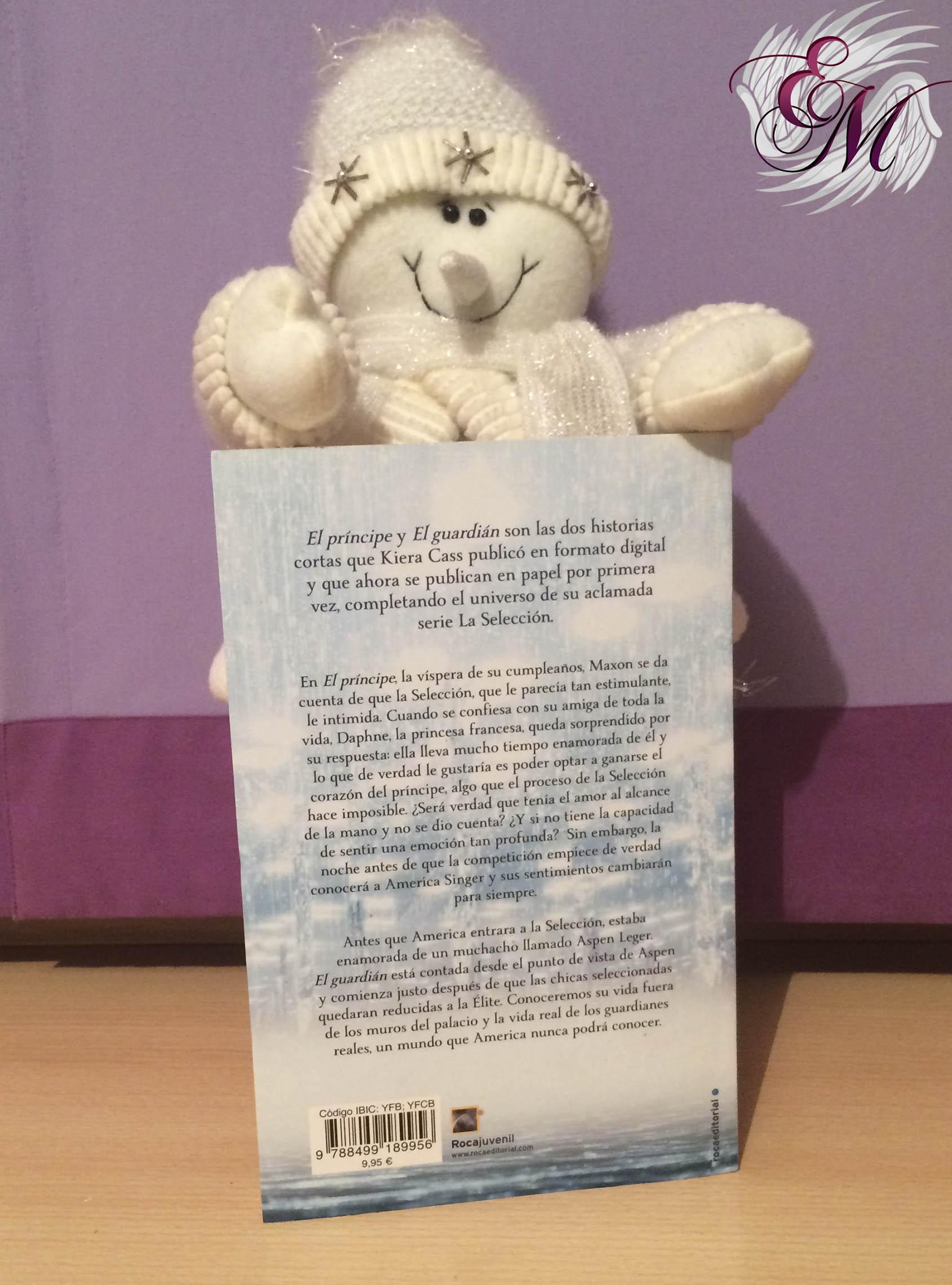 La selección historias: El príncipe y el guardián, de Kiera Cass - Reseña