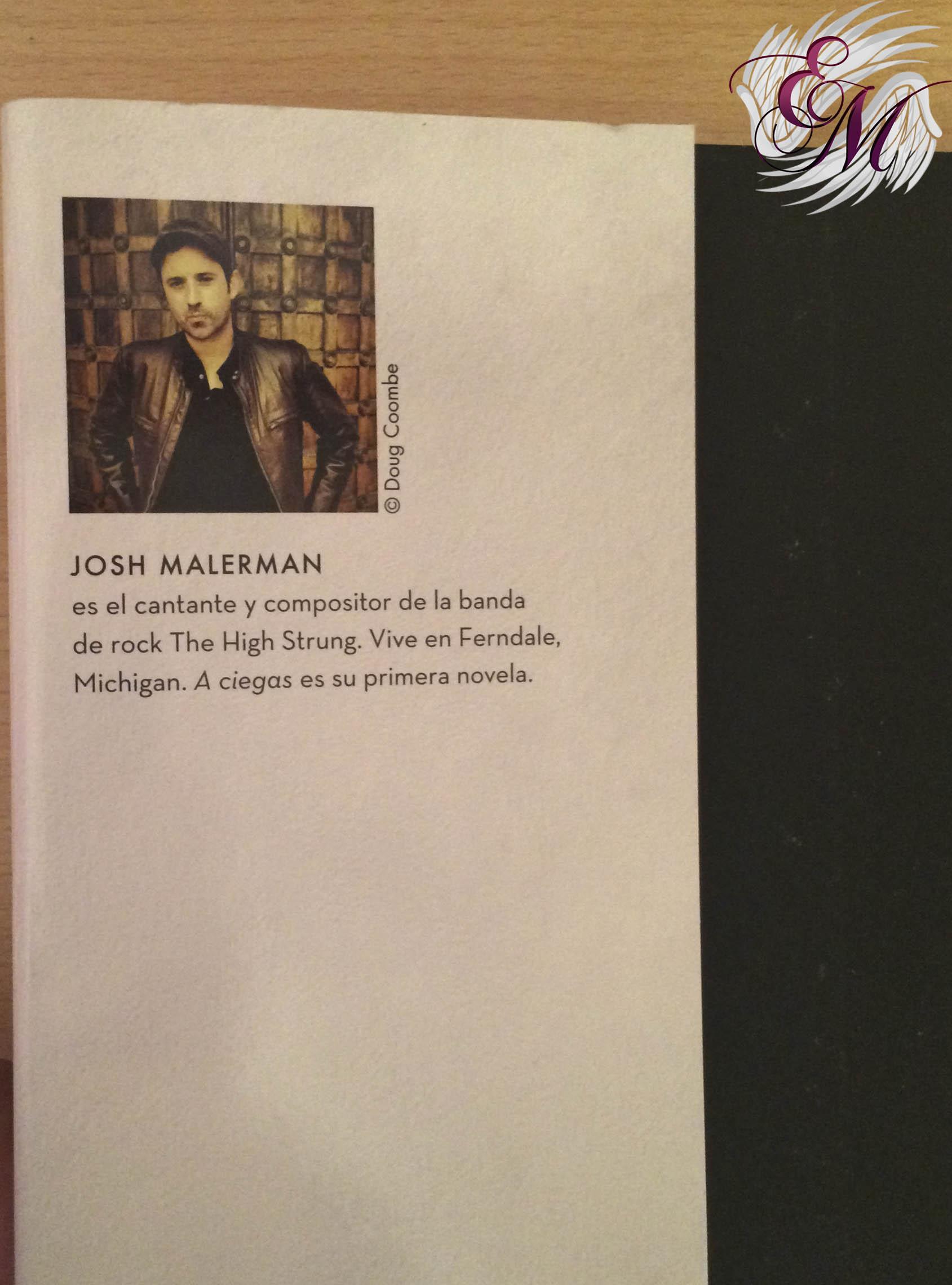 A ciegas - Josh Malerman - solapa de alante