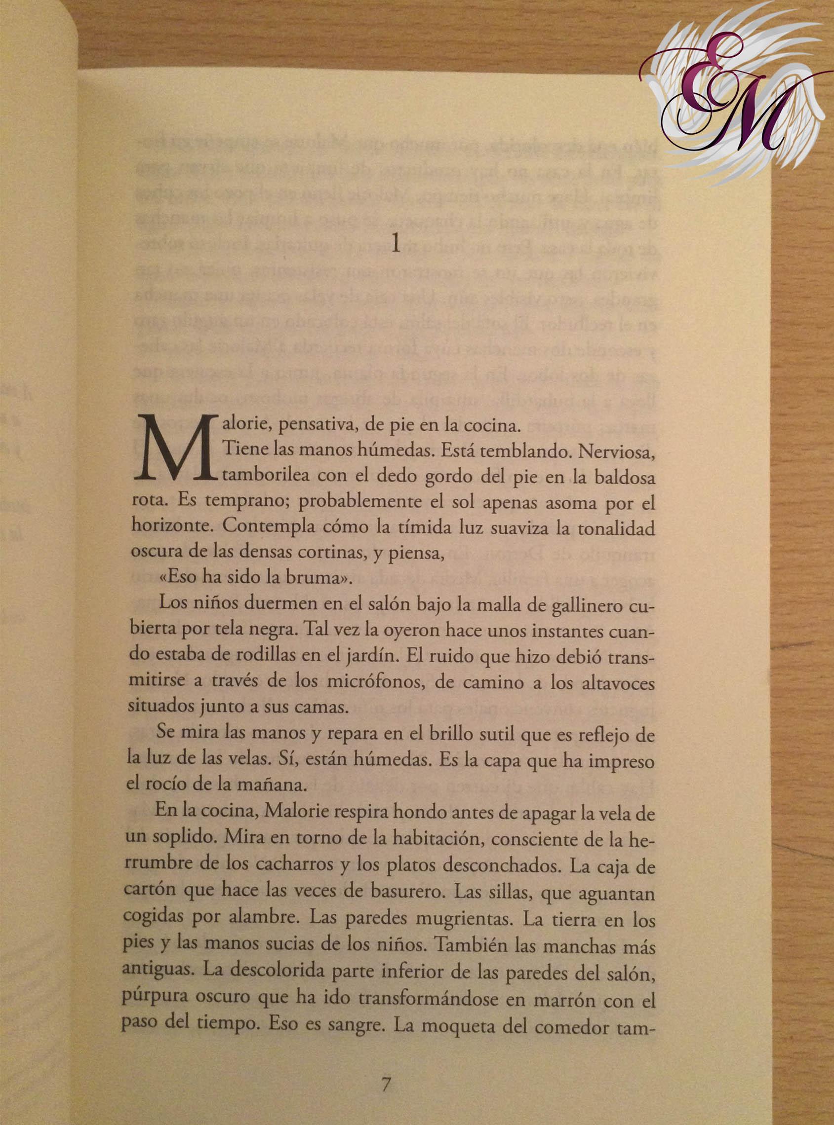 A ciegas - Josh Malerman - capítulo 1