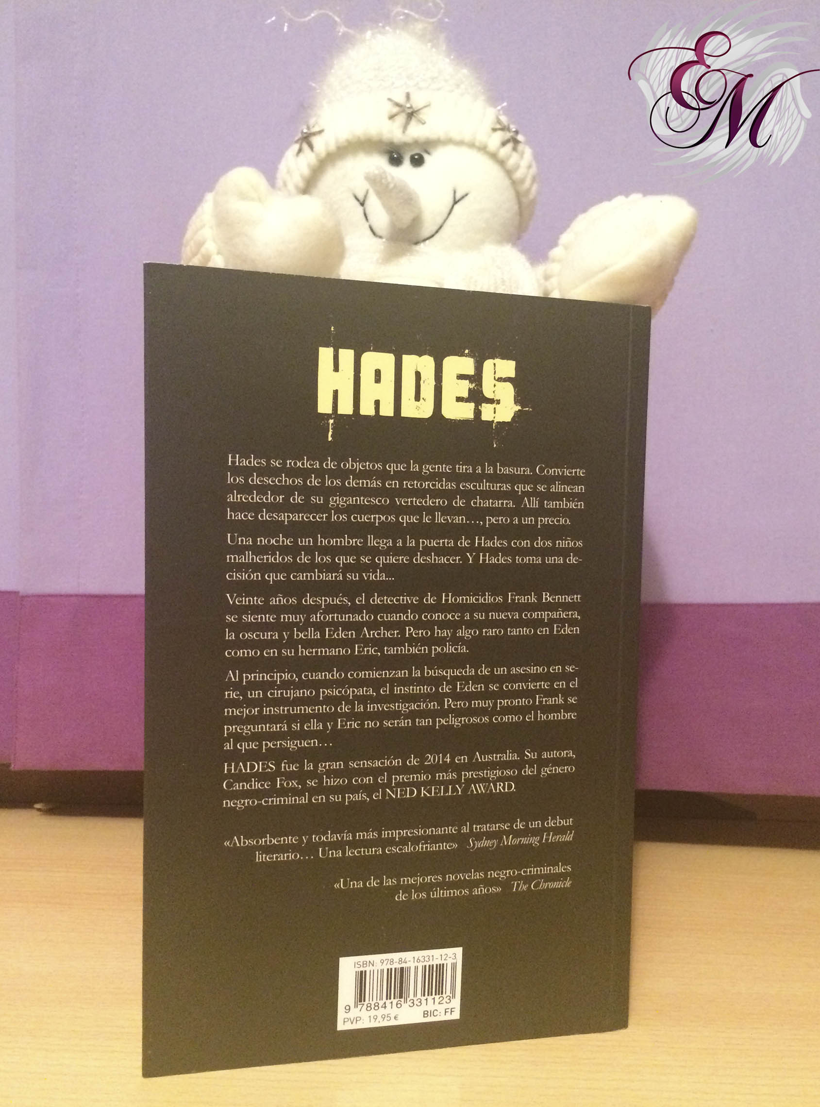 Hades, de Candice Fox - Reseña