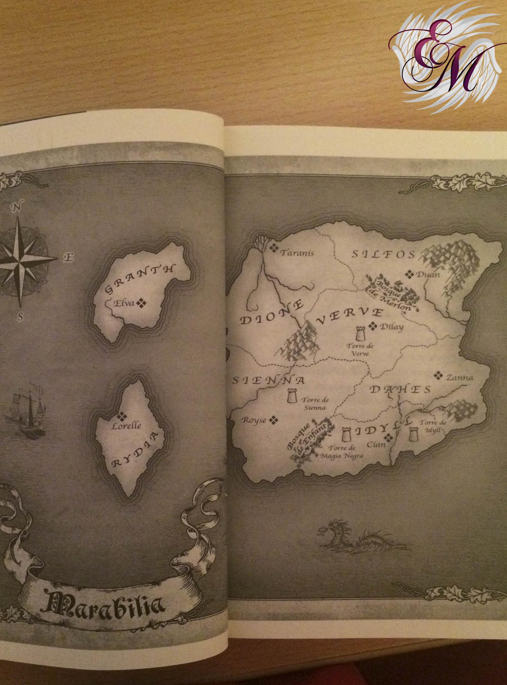 Sueños de Piedra - mapa