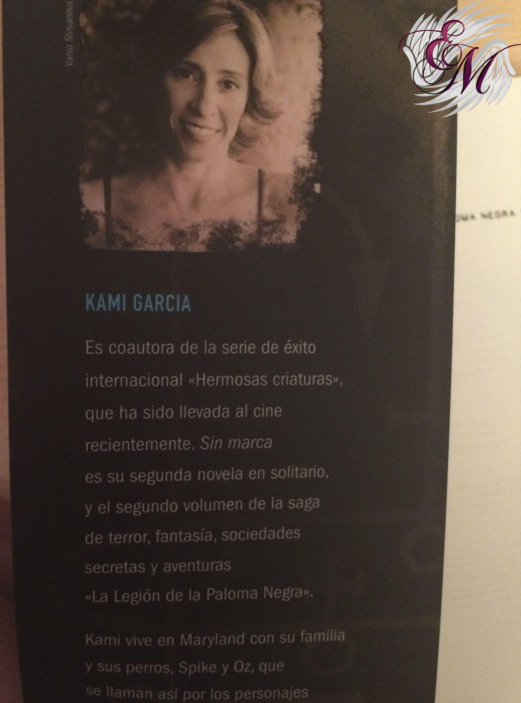 Sin marca, de Kami Garcia - Reseña