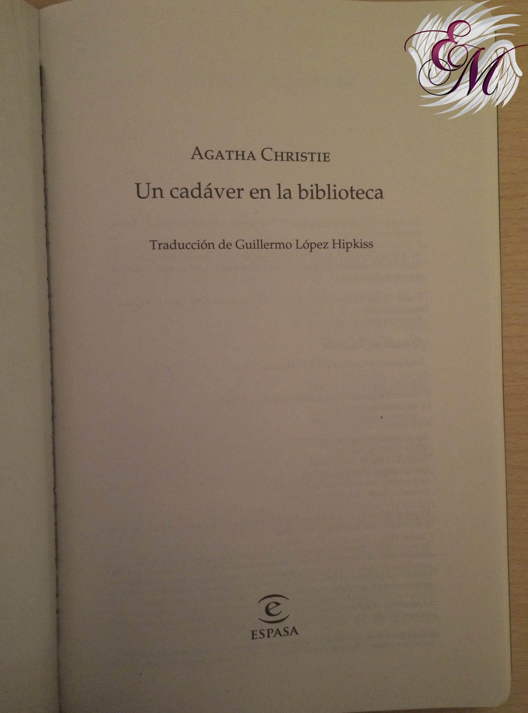 Un cadáver en la biblioteca, de Agatha Christie - Reseña
