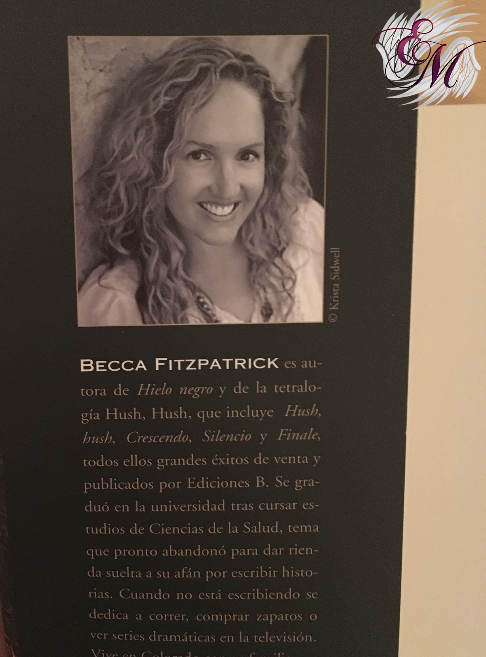 Mentiras peligrosas, de Becca Fitzpatrick - Reseña - solapa de alante