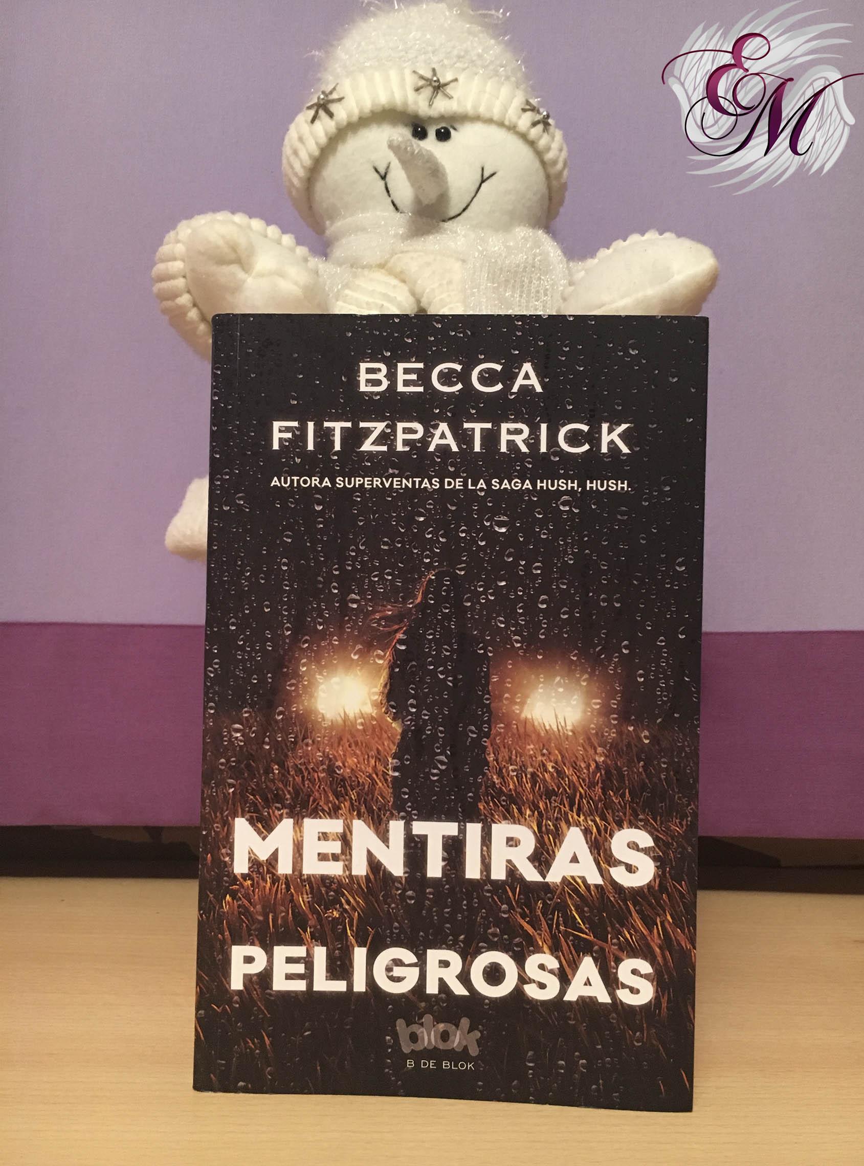 Mentiras peligrosas, de Becca Fitzpatrick - Reseña - portada