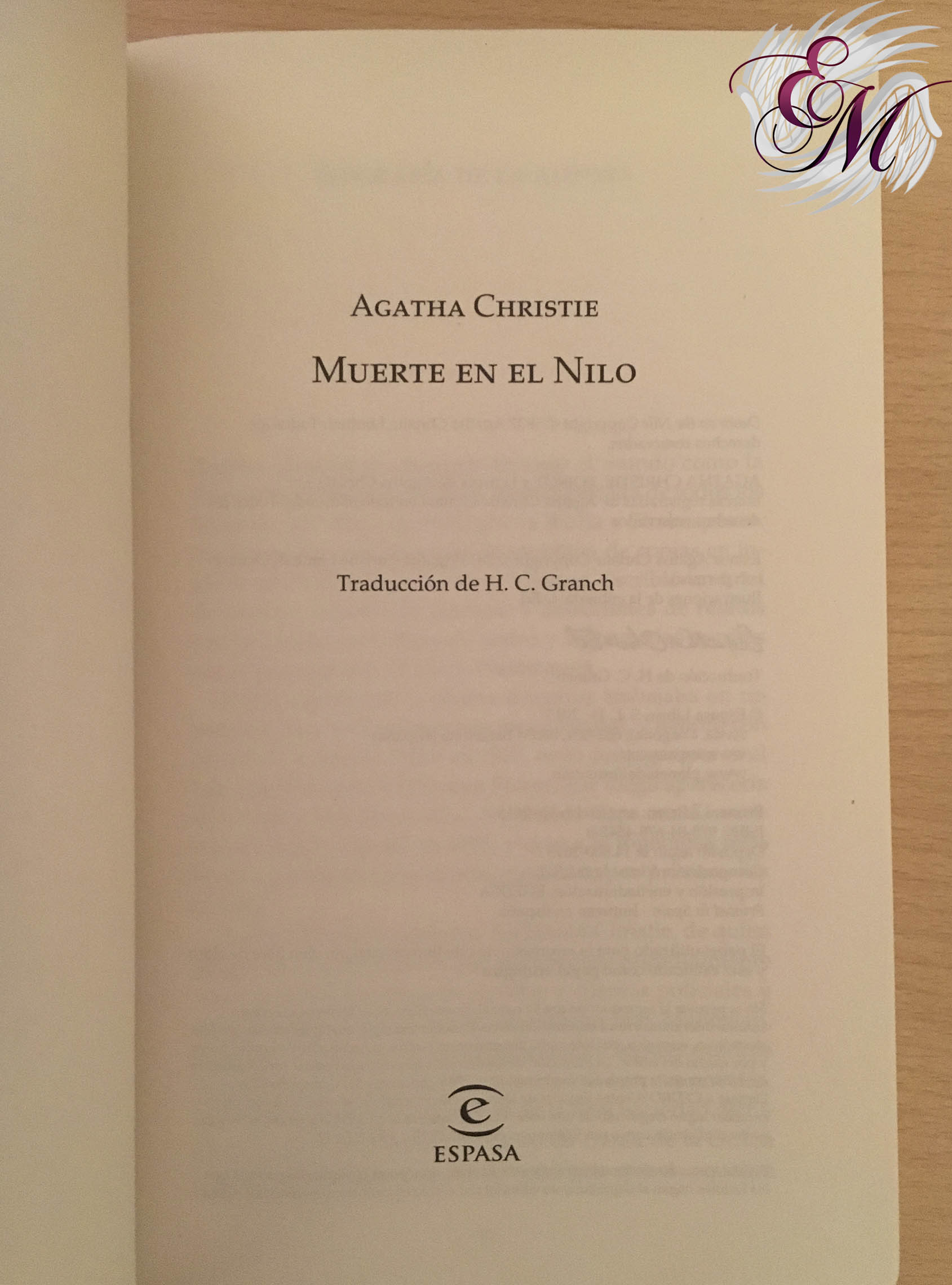 Muerte en el Nilo, de Agatha Christie - Reseña