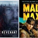 Repasamos las películas nominadas a los Oscar 2016 ¿Cuántas has visto?