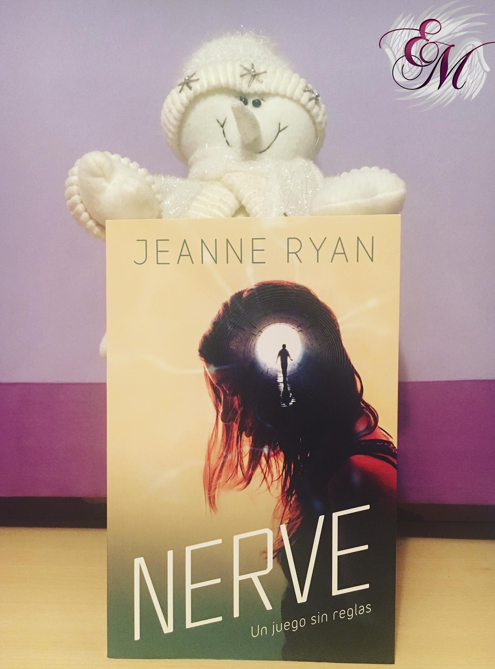 Nerve: Un juego sin reglas, de Jeanne Ryan - portada