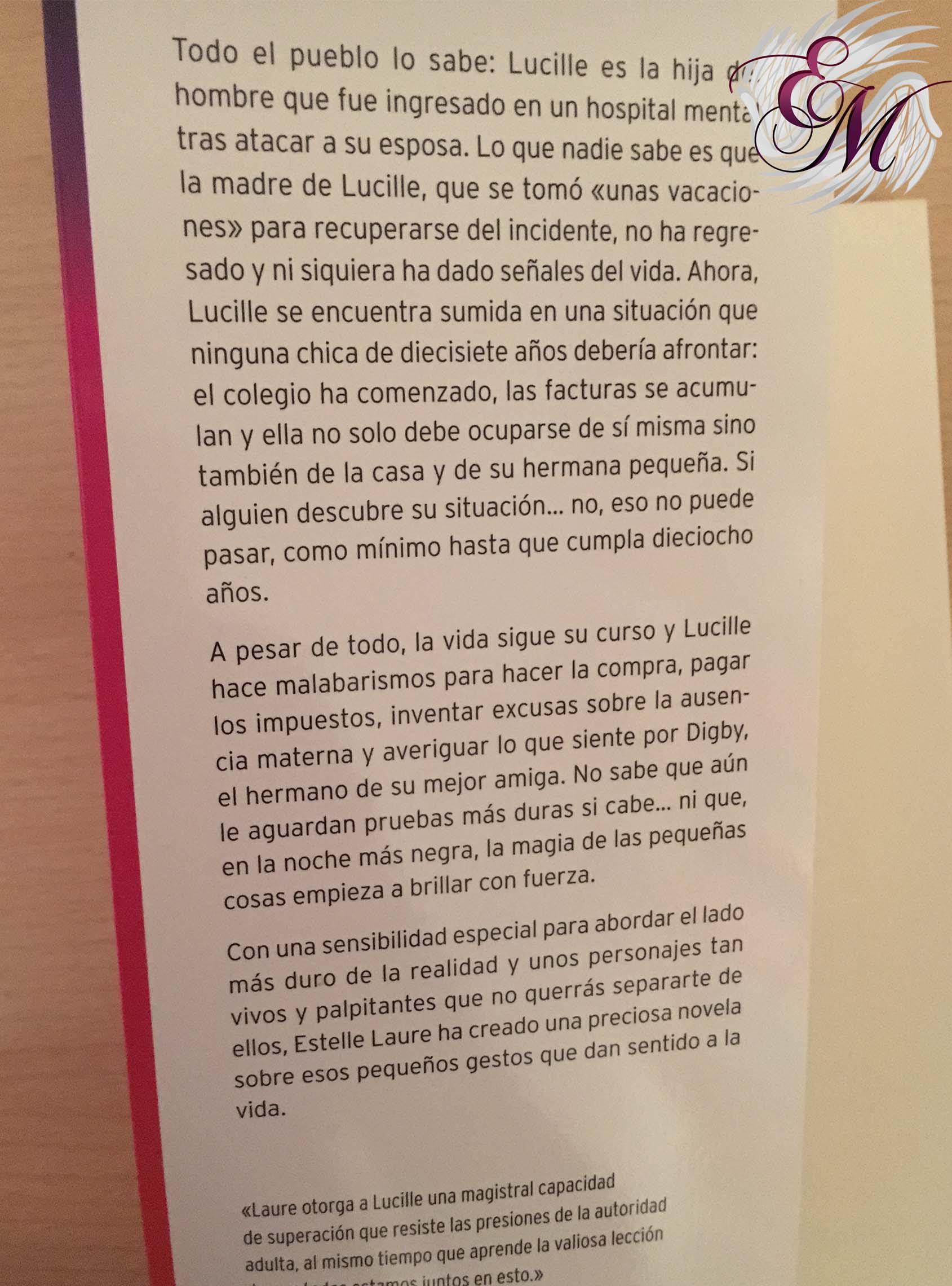 La magia de las pequeñas cosas, de Estelle Laure - Reseña