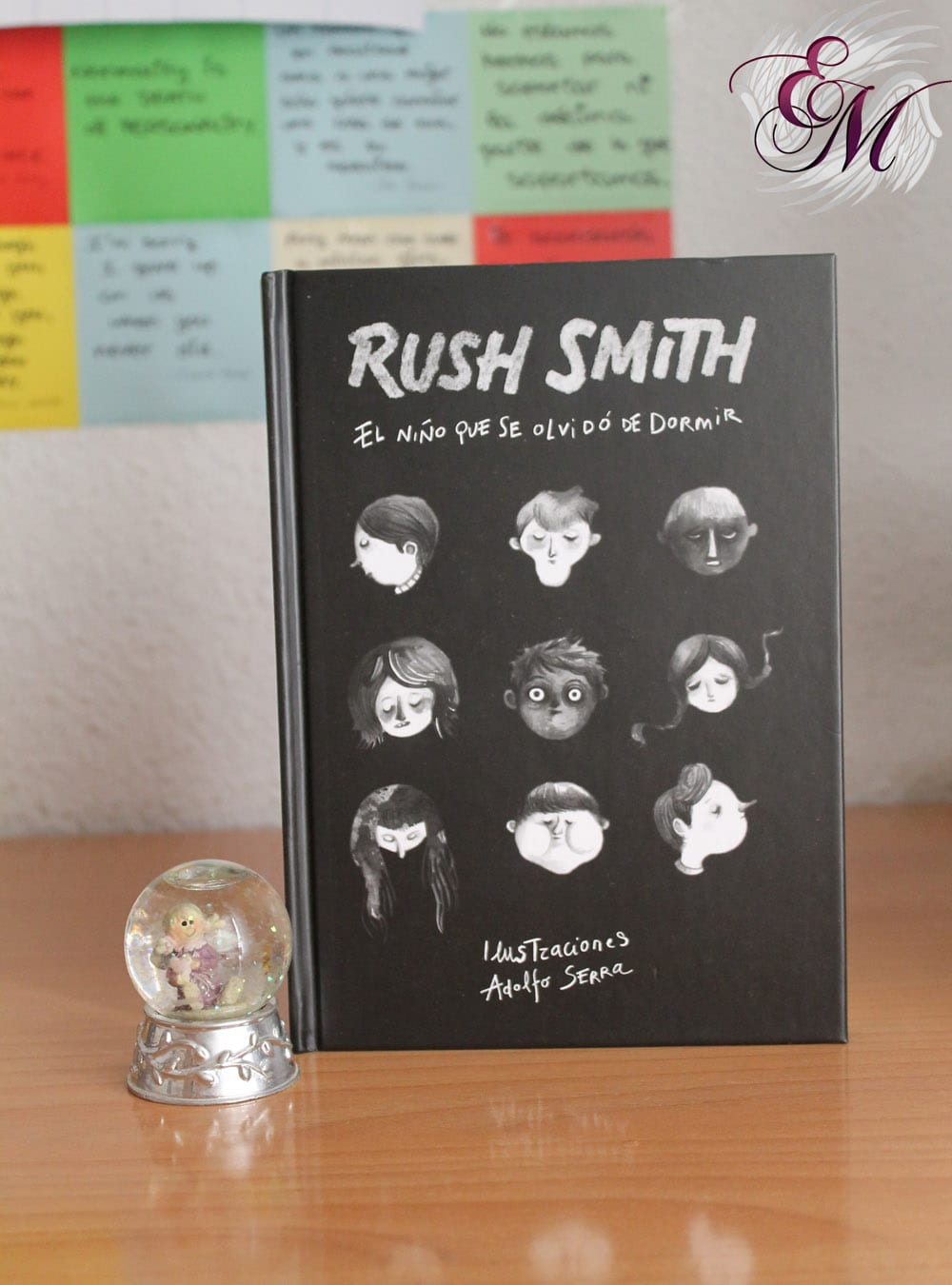 El niño que se olvidó de dormir, de Rush Smith - Reseña