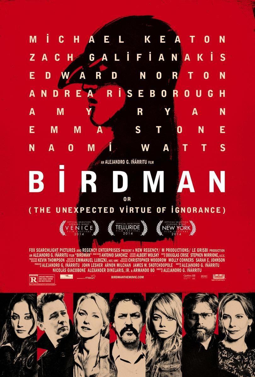 Crítica de cine: Birmdan o (La Inesperada Virtud de la Ignorancia)
