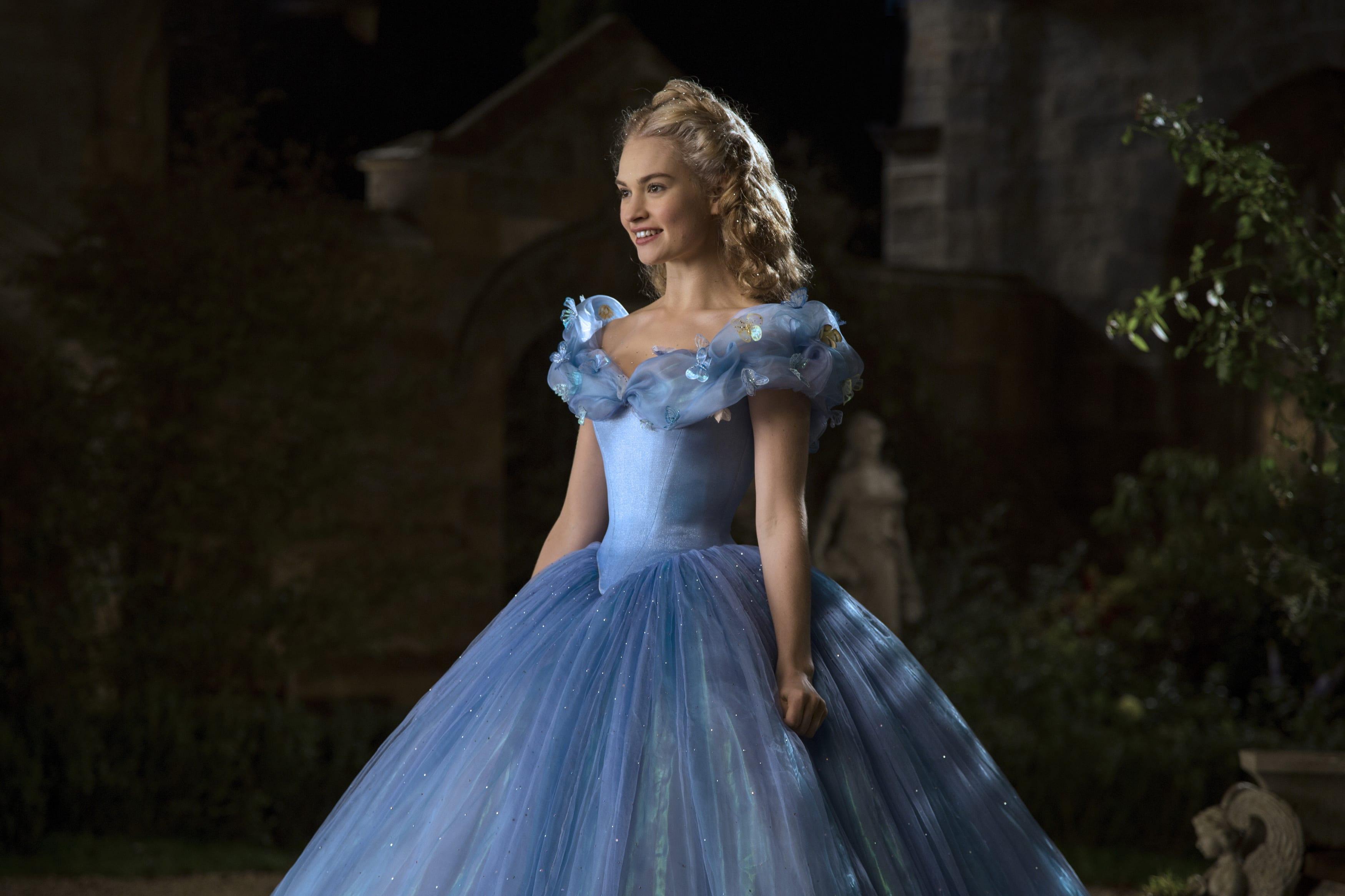 cenicienta vestido azul