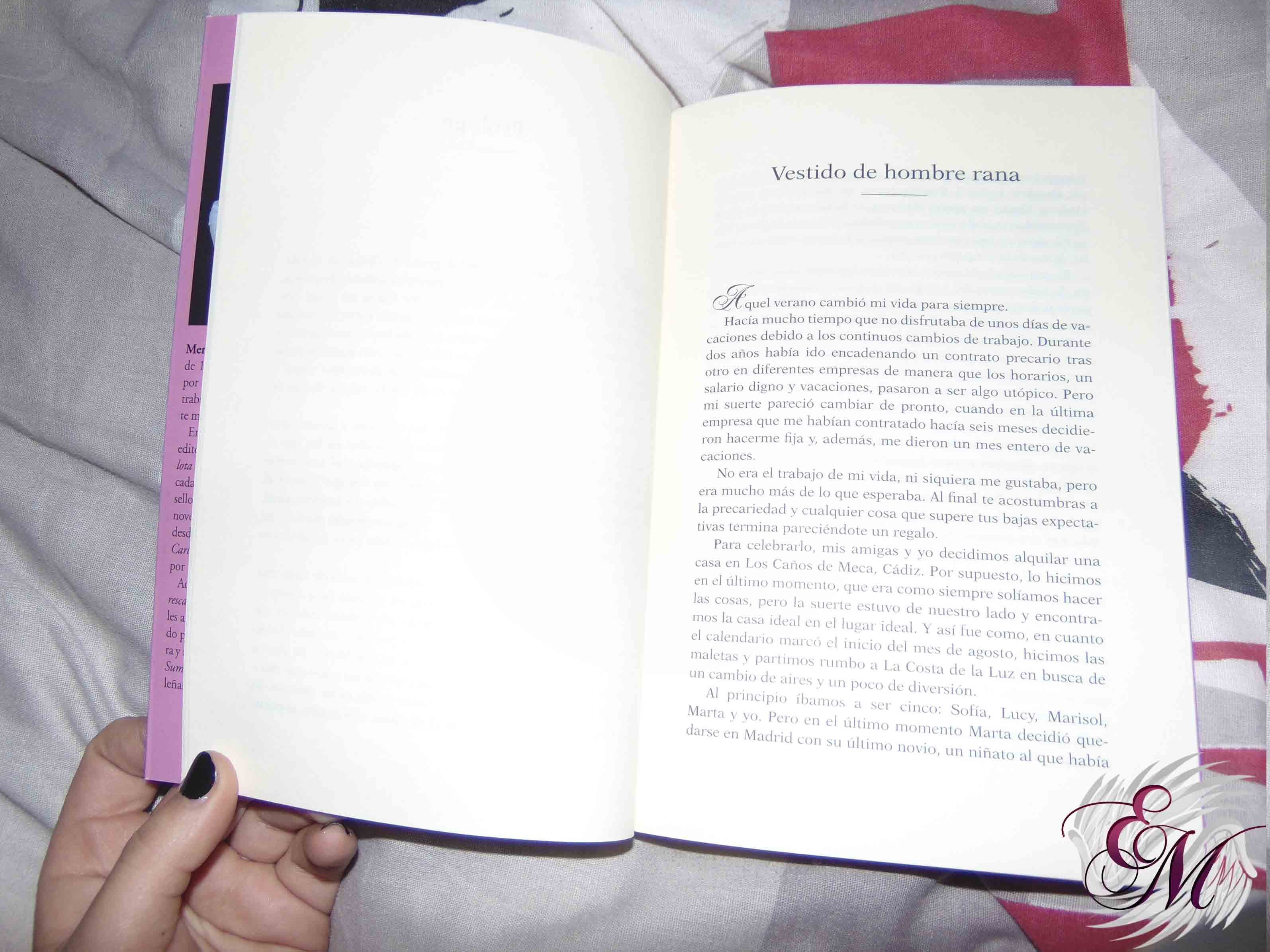 Los ángeles no tienen hélices, de Mercedes Alonso - Reseña