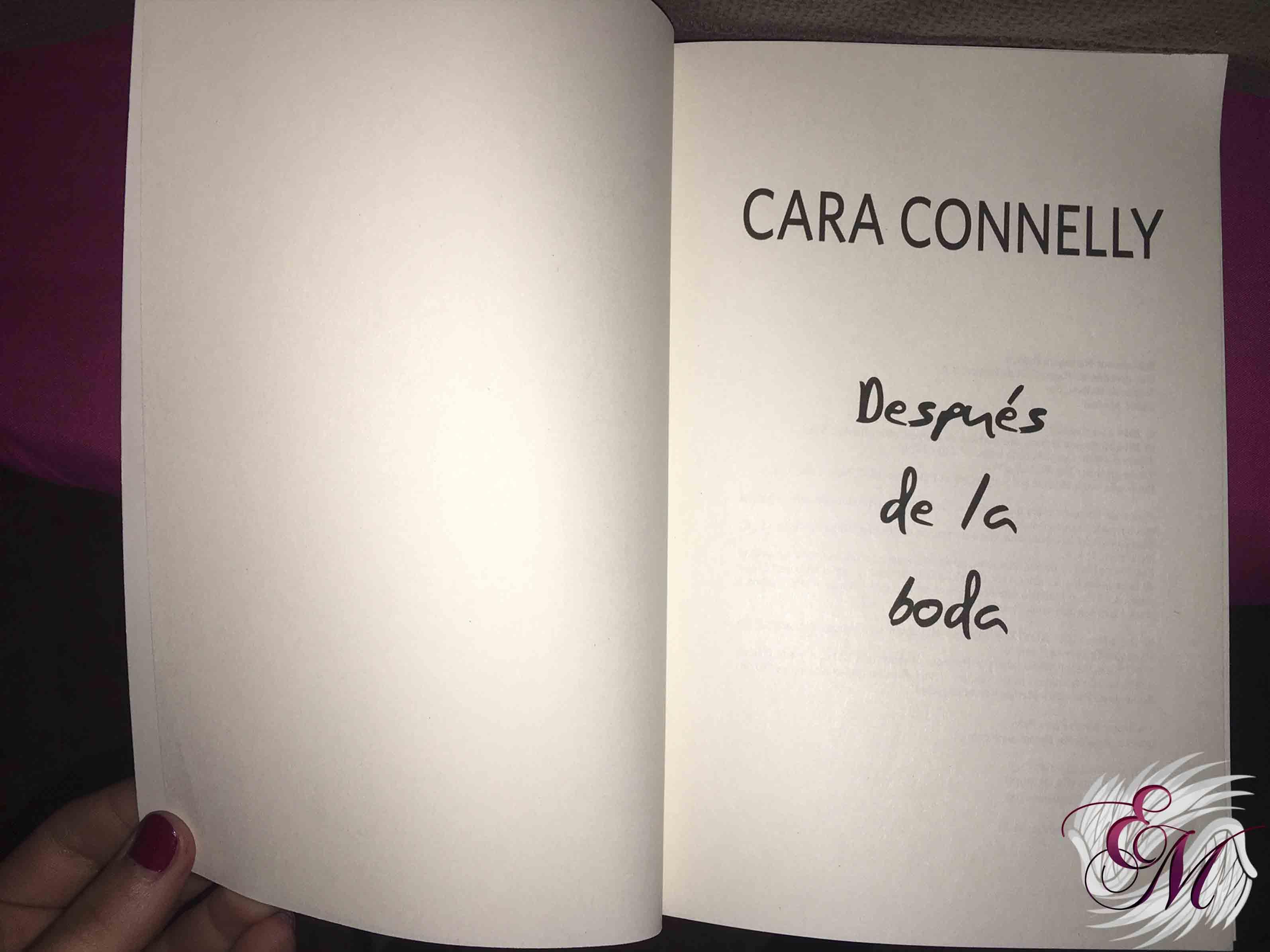 Después de la boda, de Cara Conelly - Reseña