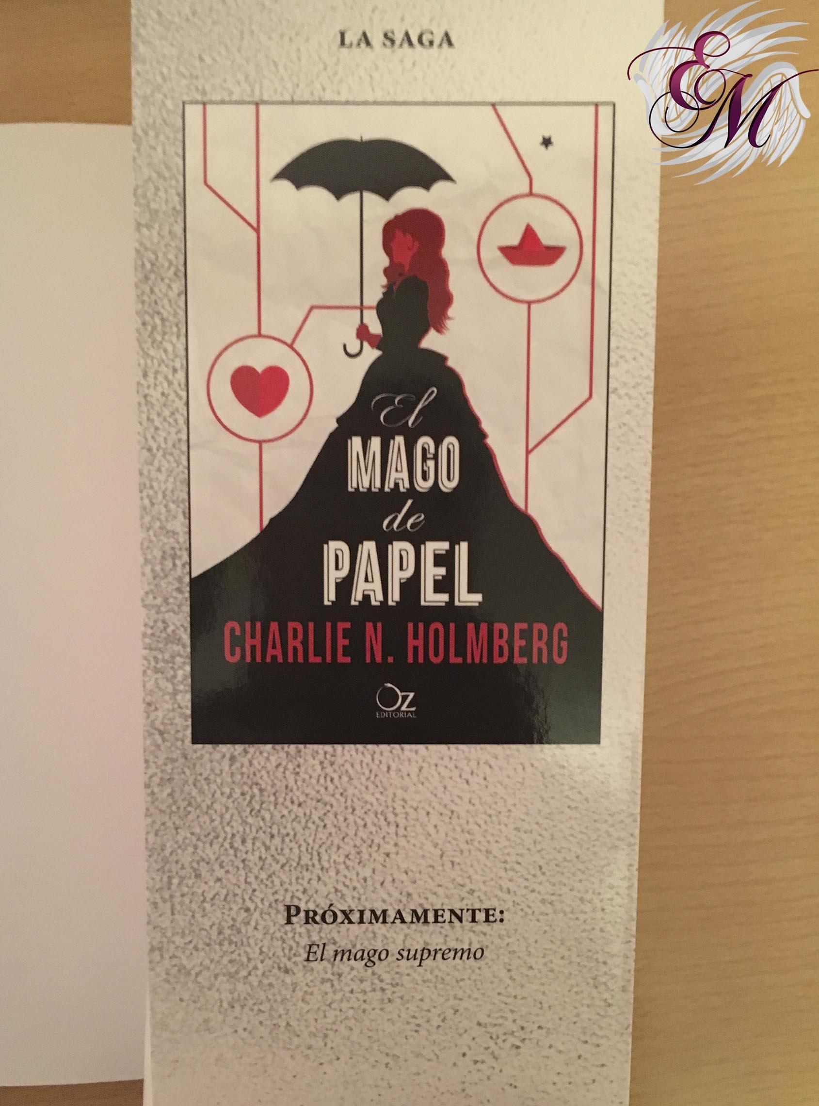 El mago de cristal, Charlie N. Holmberg - Reseña