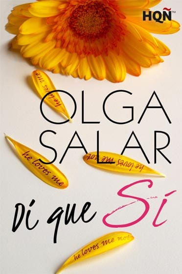 Di que sí - Olga Salar - portada