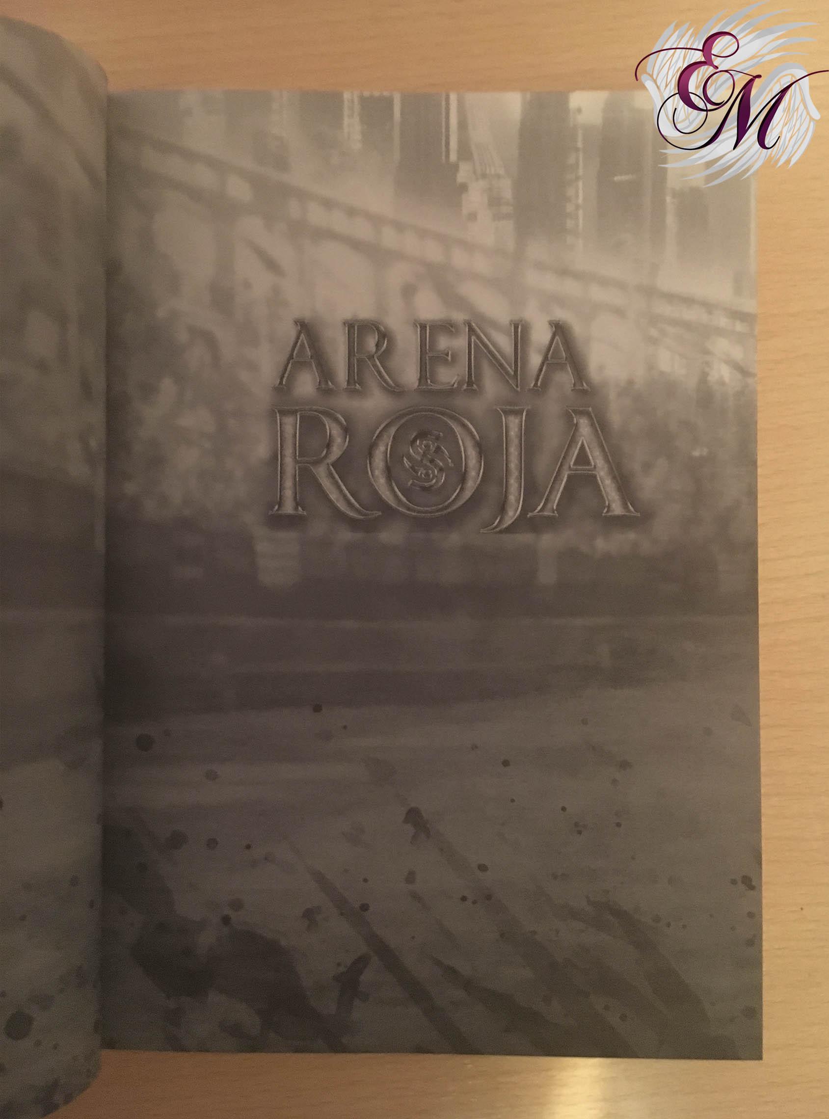 Arena Roja, de Gema Bonnín - Reseña