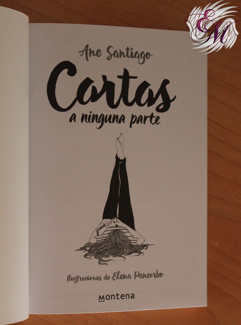 Cartas a ninguna parte, Ane Santiago y Elena Pancorbo - Reseña