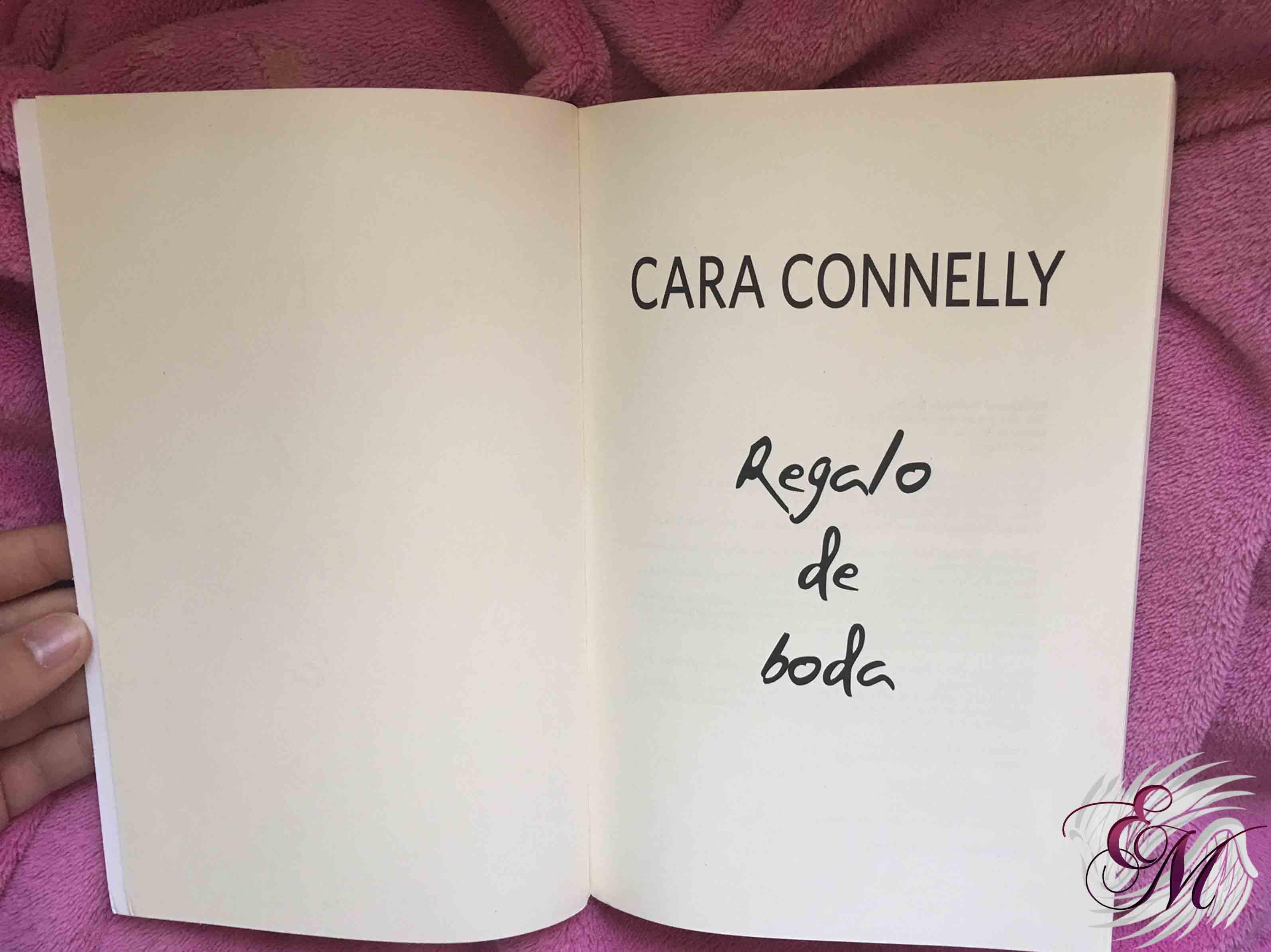 Regalo de boda, de Cara Conelly - Reseña