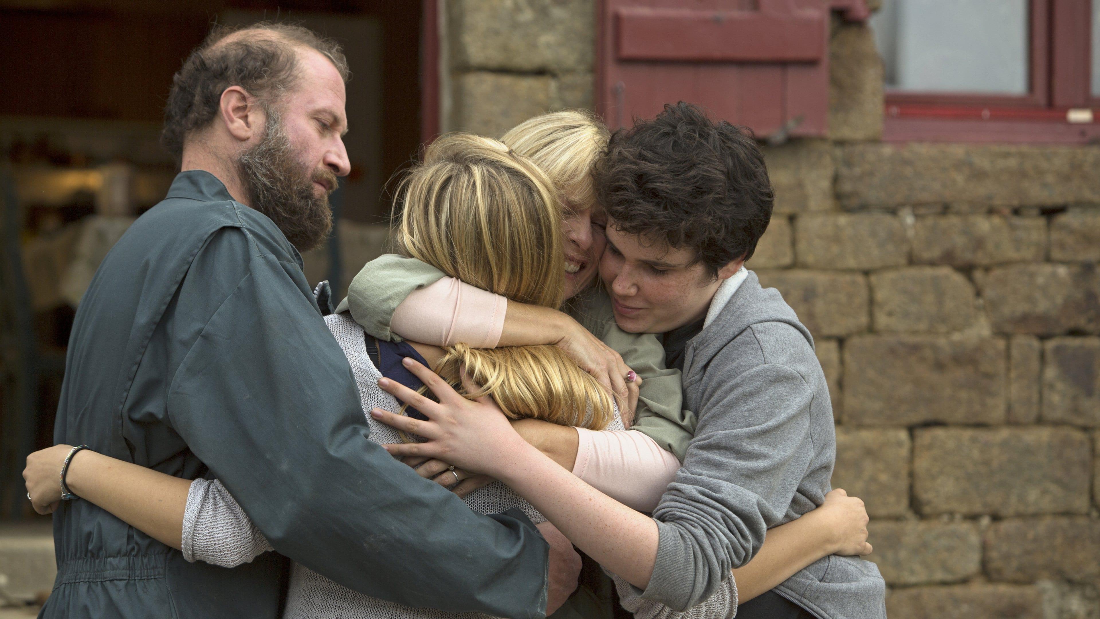 la familia belier abrazo