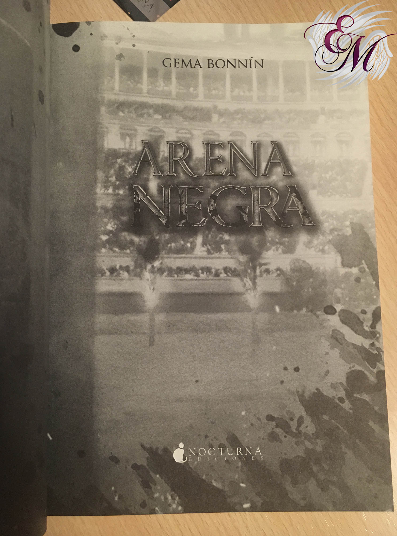 Arena Negra, Gema Bonnín - Reseña