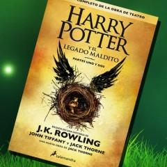 'Harry Potter y El Legado Maldito', de J.K. Rowling. A la venta el 28 de Septiembre