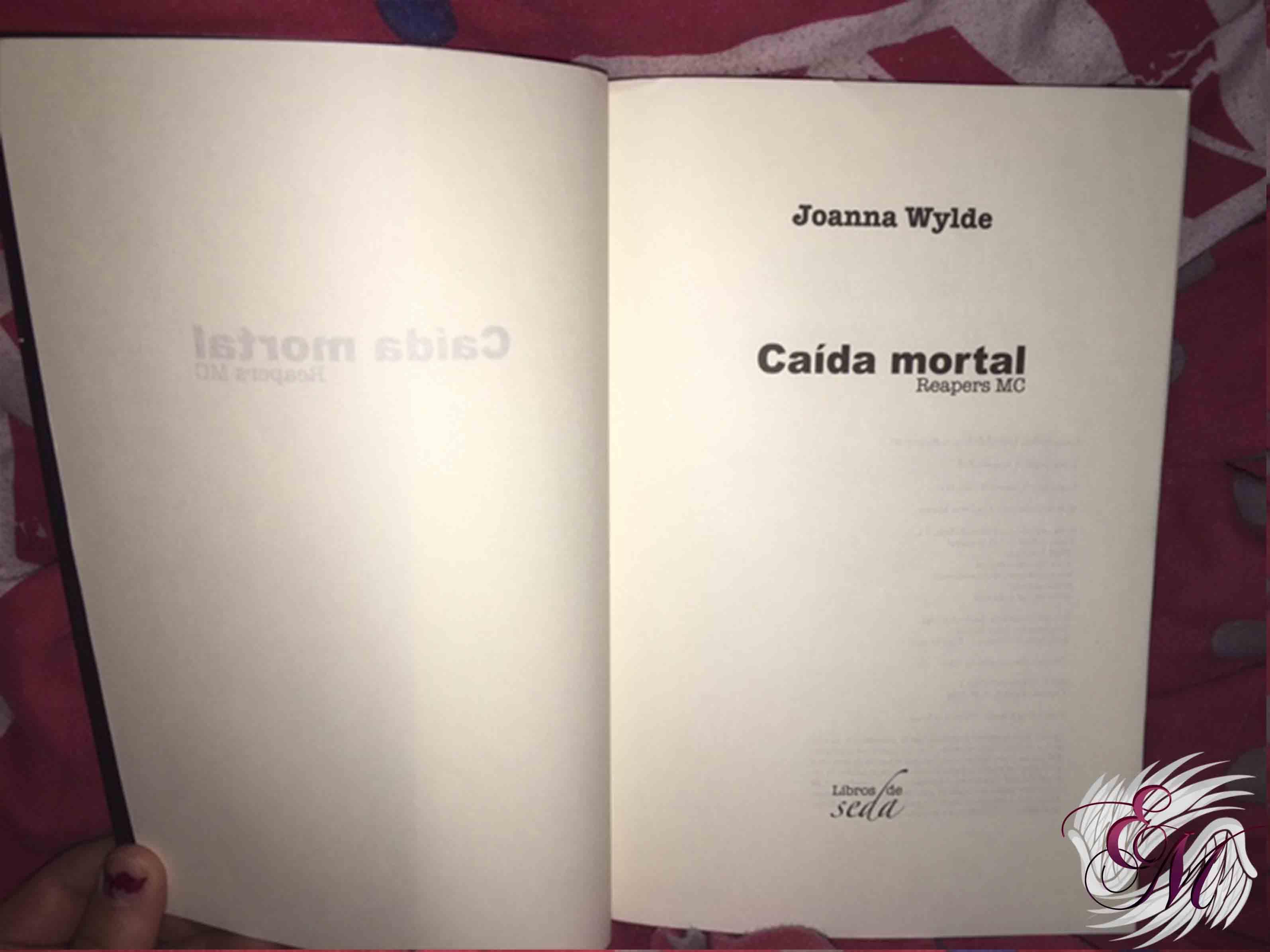 Caída mortal, de Joanna Wylde - Reseña