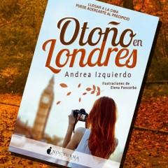 'Otoño en Londres', de Andrea Izquierdo. A la venta el 3 de Octubre