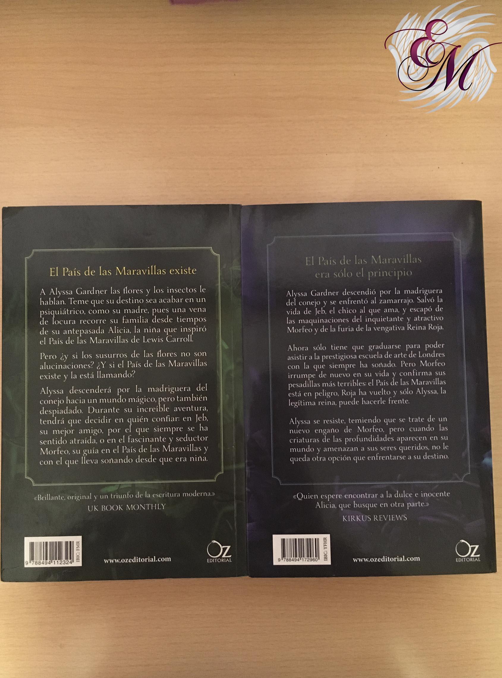 Delirios de  A.G. Howard - Reseña